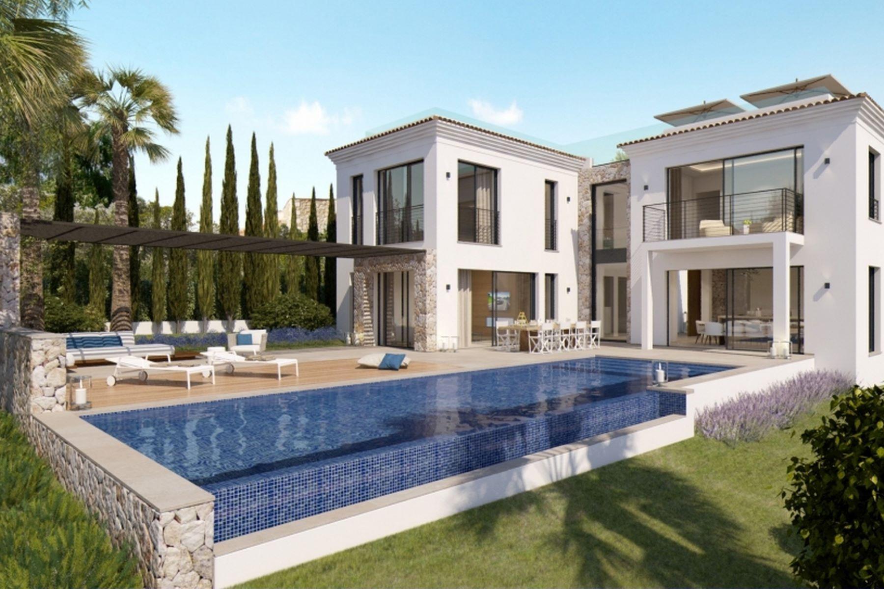 Single Family Home for Sale at Newly built villa very close to Port Adriano Nova Santa Ponsa, Mallorca Spain