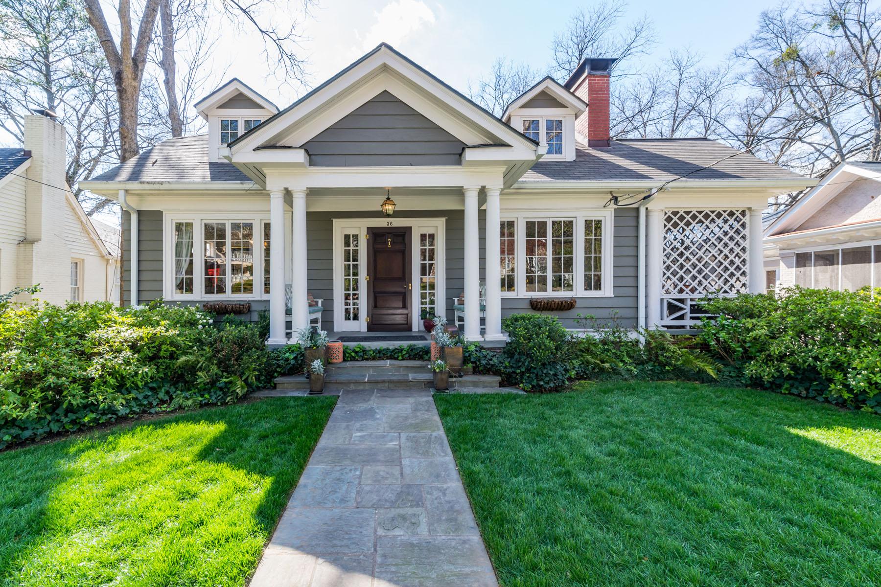 独户住宅 为 销售 在 Beautiful Historic Buckhead Masterpiece 36 Standish Ave NW 亚特兰大, 乔治亚州, 30309 美国