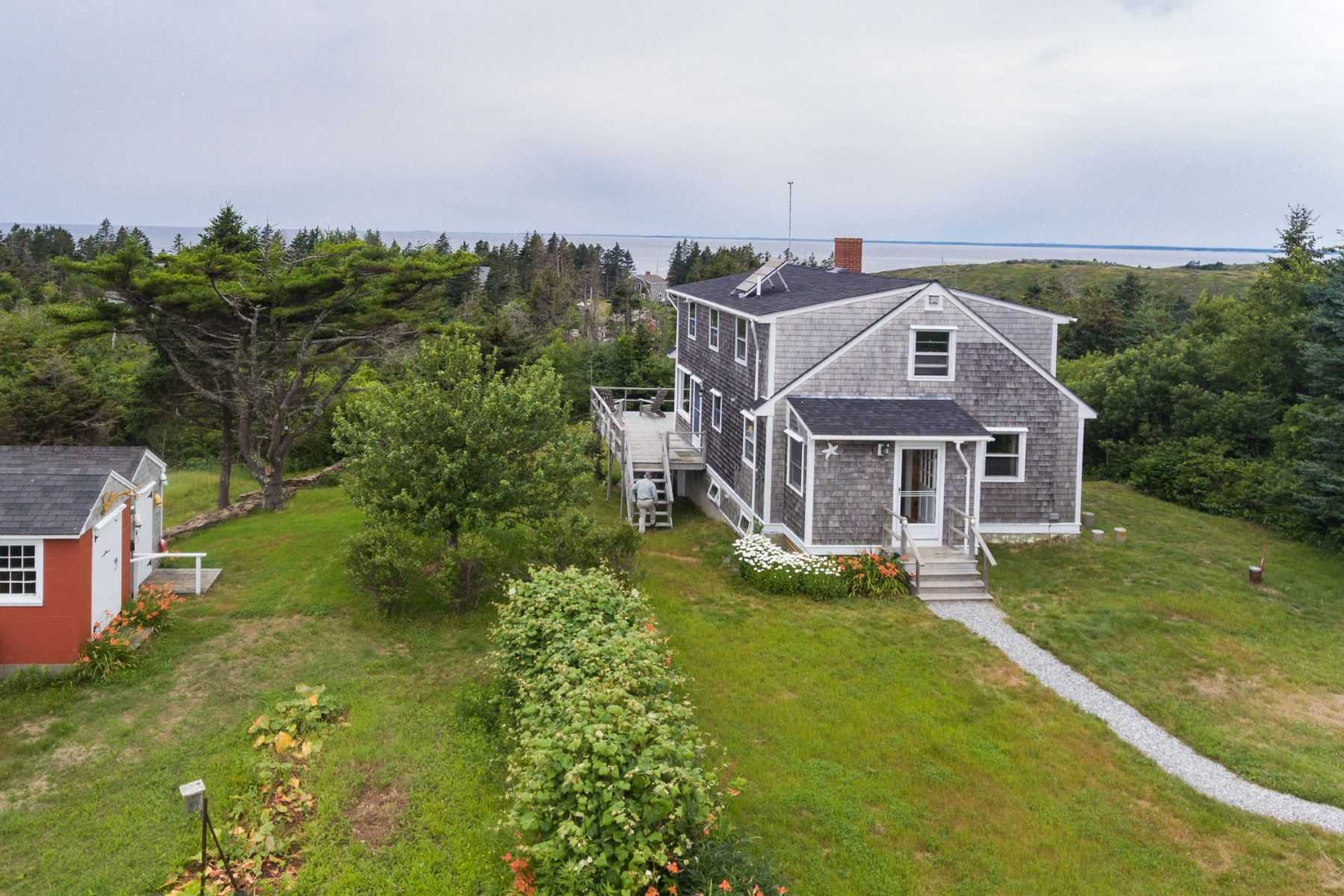Single Family Home for Sale at 75 Odom Place Monhegan, Maine, 04852 United States