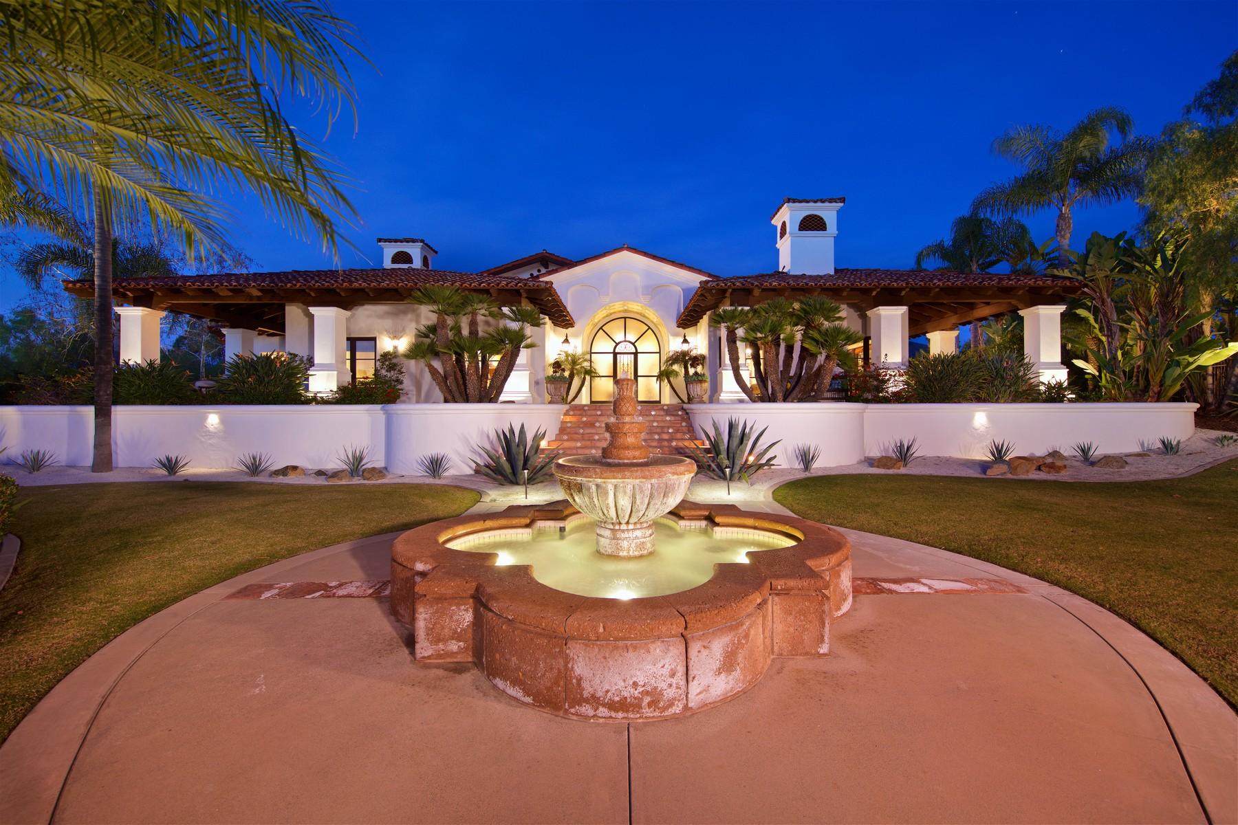 Nhà ở một gia đình vì Bán tại 7152 Rancho La Cima Rancho Santa Fe, California, 92067 Hoa Kỳ