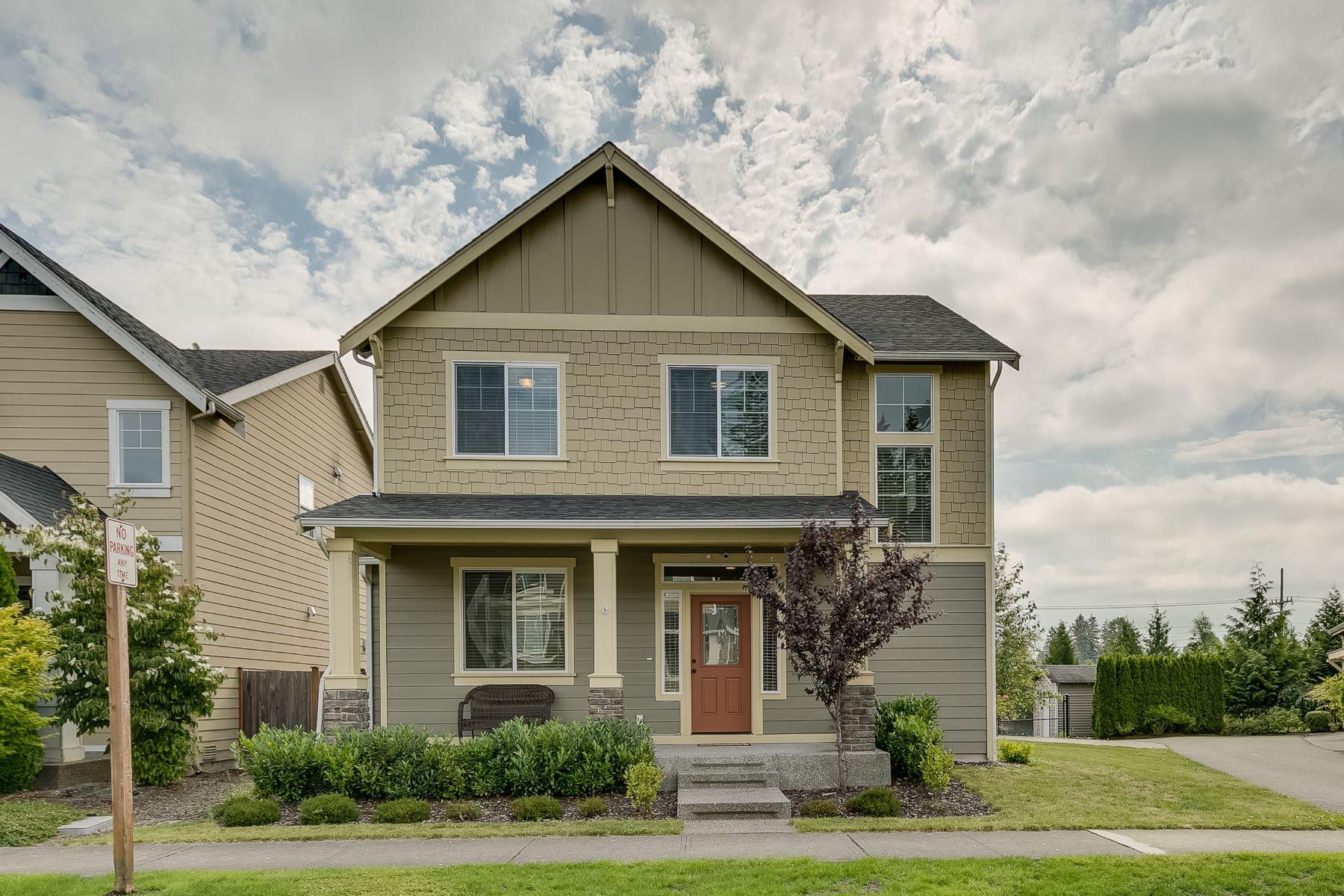 Vivienda unifamiliar por un Venta en Northpointe Craftsman 13733 34th Ave SE Mill Creek, Washington, 98012 Estados Unidos