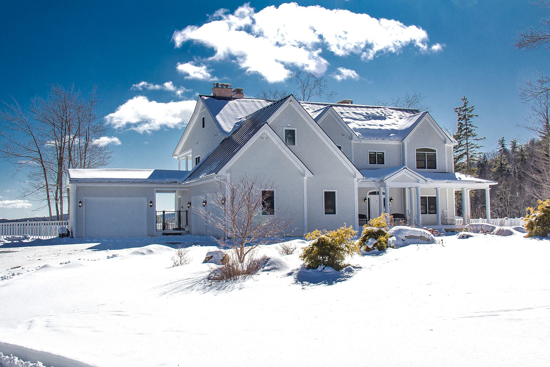 Single Family Homes for Sale at Private Country Estate with 1470 Acres 400 Timberbrook Ln Townshend, Vermont 05353 United States
