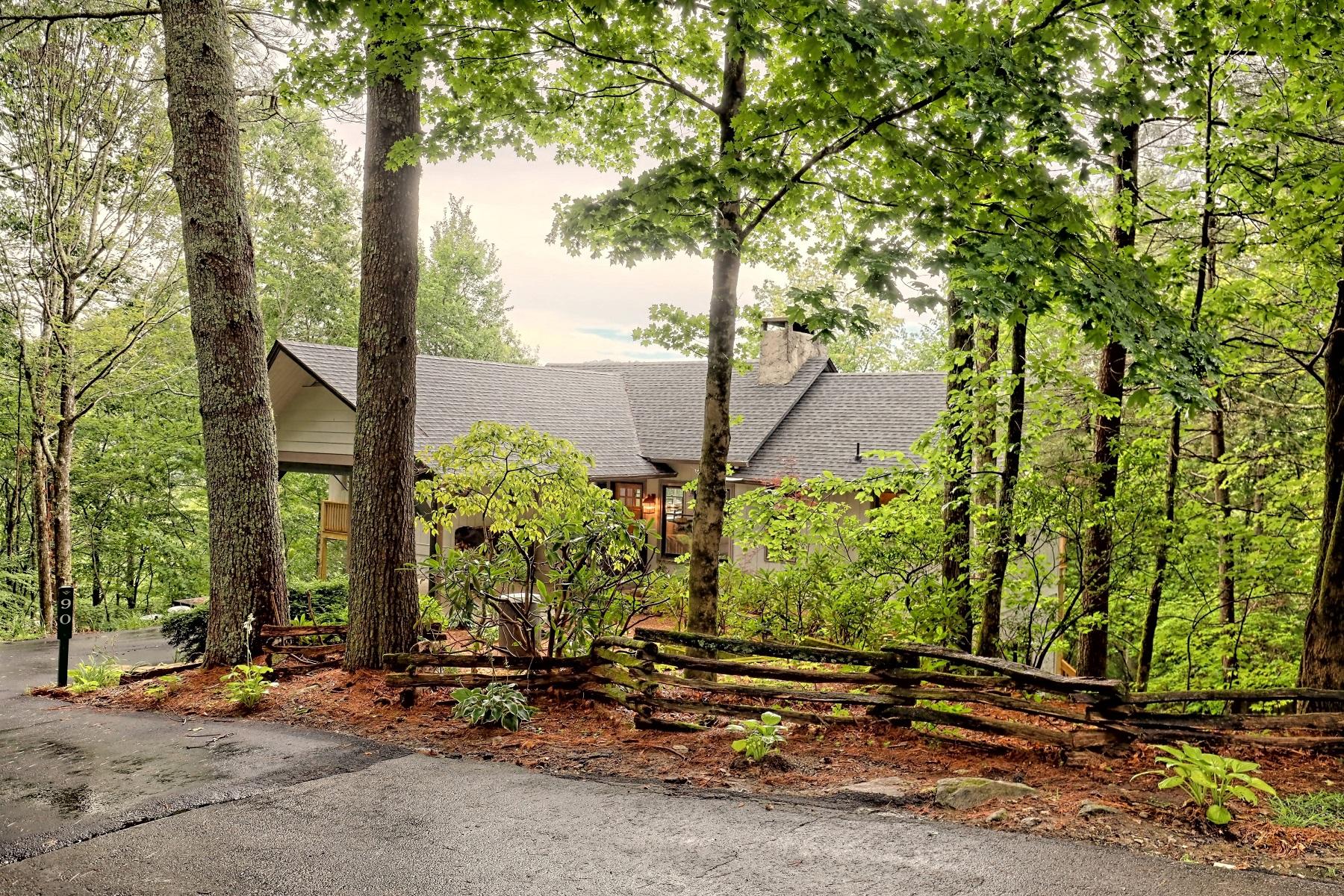 Single Family Homes por un Venta en Hudson 90 Downing Street, Sky Valley, Georgia 30537 Estados Unidos