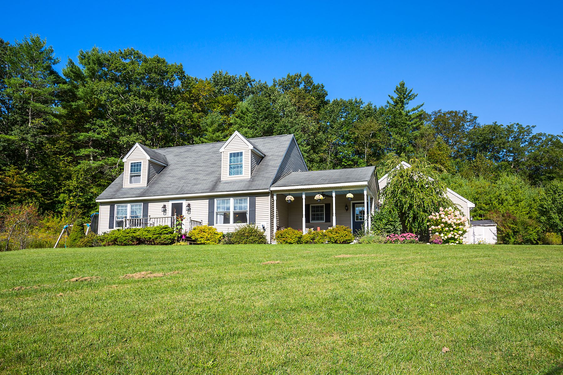 Single Family Homes for Sale at Cape on 2.24 Private Acres with Views! 157 Oak Hill Rd Shaftsbury, Vermont 05262 United States