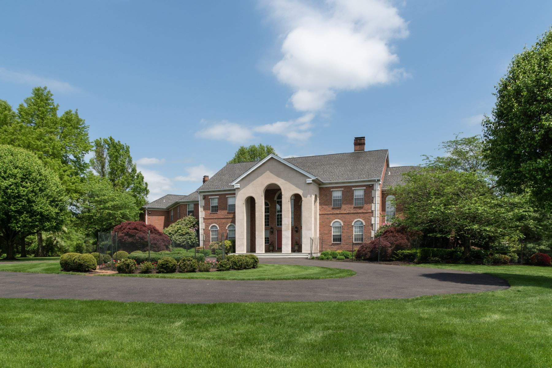 Property for Sale at Masterpiece of Custom Design On 10 Sprawling Acres 7 Woodland Road, Newtown, Pennsylvania 18940 United States