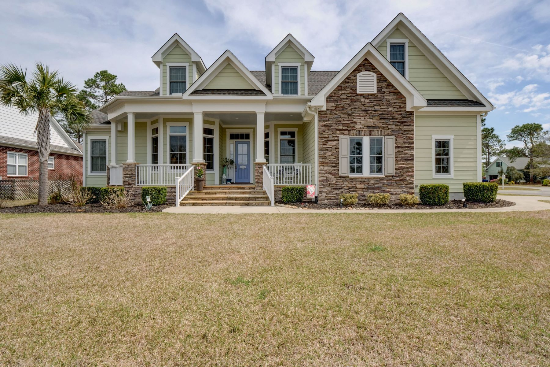Single Family Home for Active at Custom Built Home with High End Features 4398 Ascot Circle SE Southport, North Carolina 28461 United States