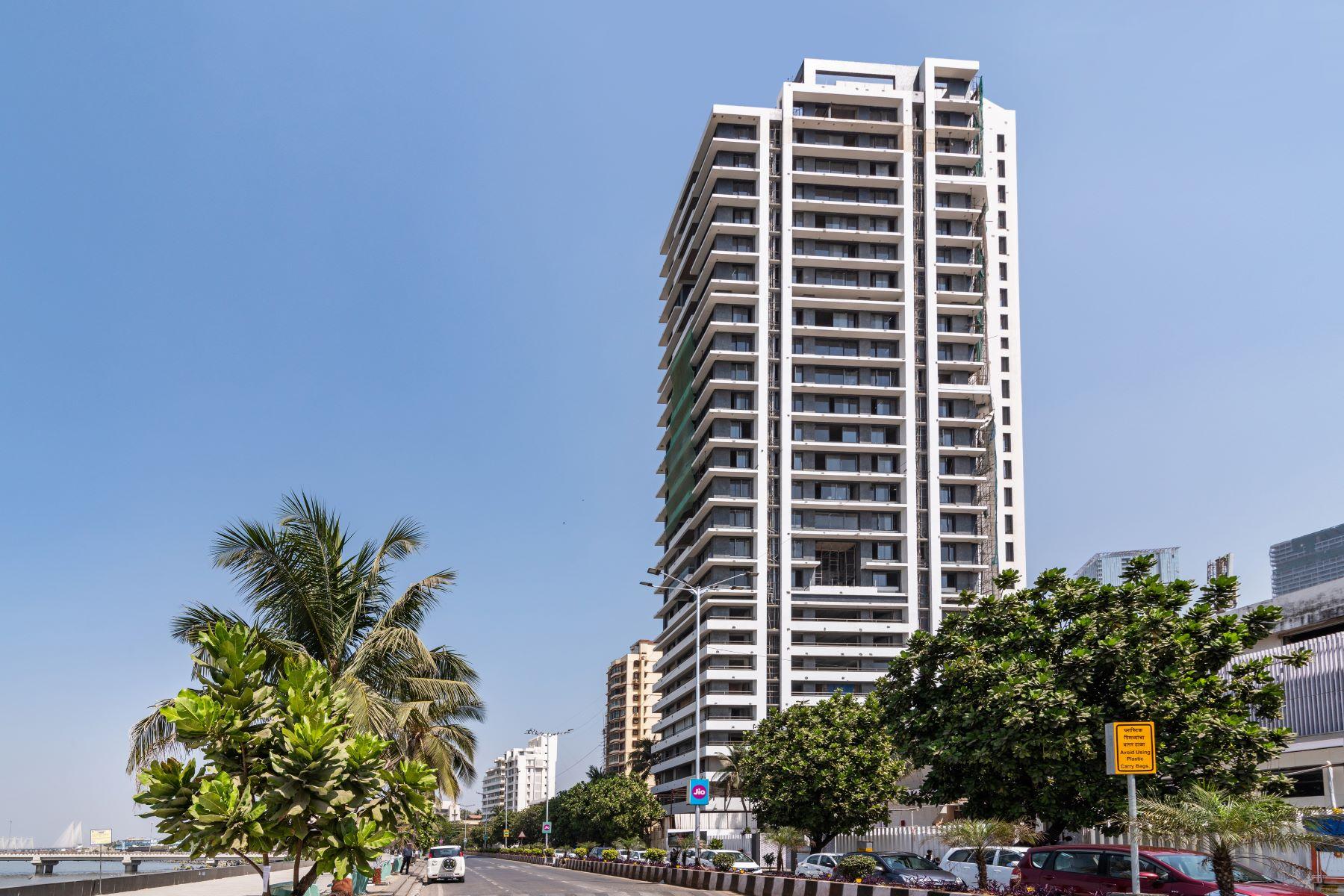 Apartments 为 销售 在 Panoramic Sea Facing Apartment, Worli Sea Face 孟买, 马哈拉托特拉邦 400030 印度
