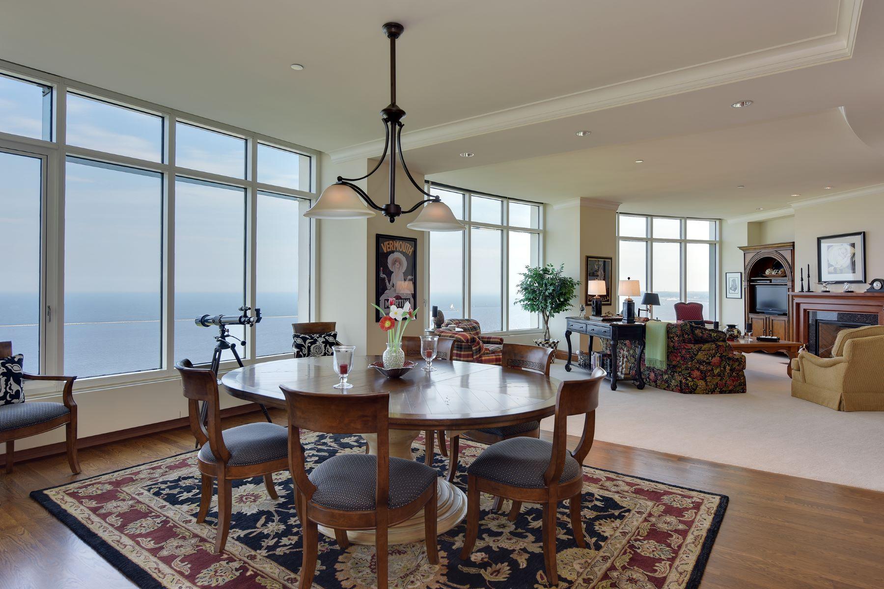 Condominiums для того Продажа на University Club Tower 825 N. Prospect Ave. 2101, Milwaukee, Висконсин 53202 Соединенные Штаты