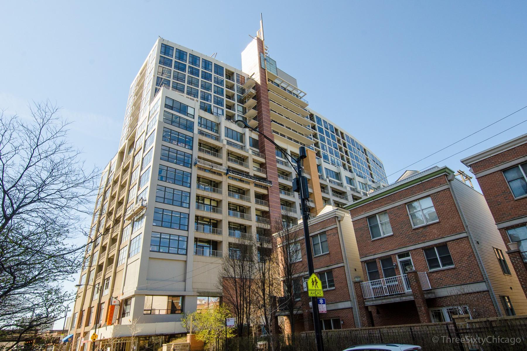 콘도미니엄 용 매매 에 Dearborn Tower 1530 S State Street, Unit 15G Near South Side, Chicago, 일리노이즈, IL 미국