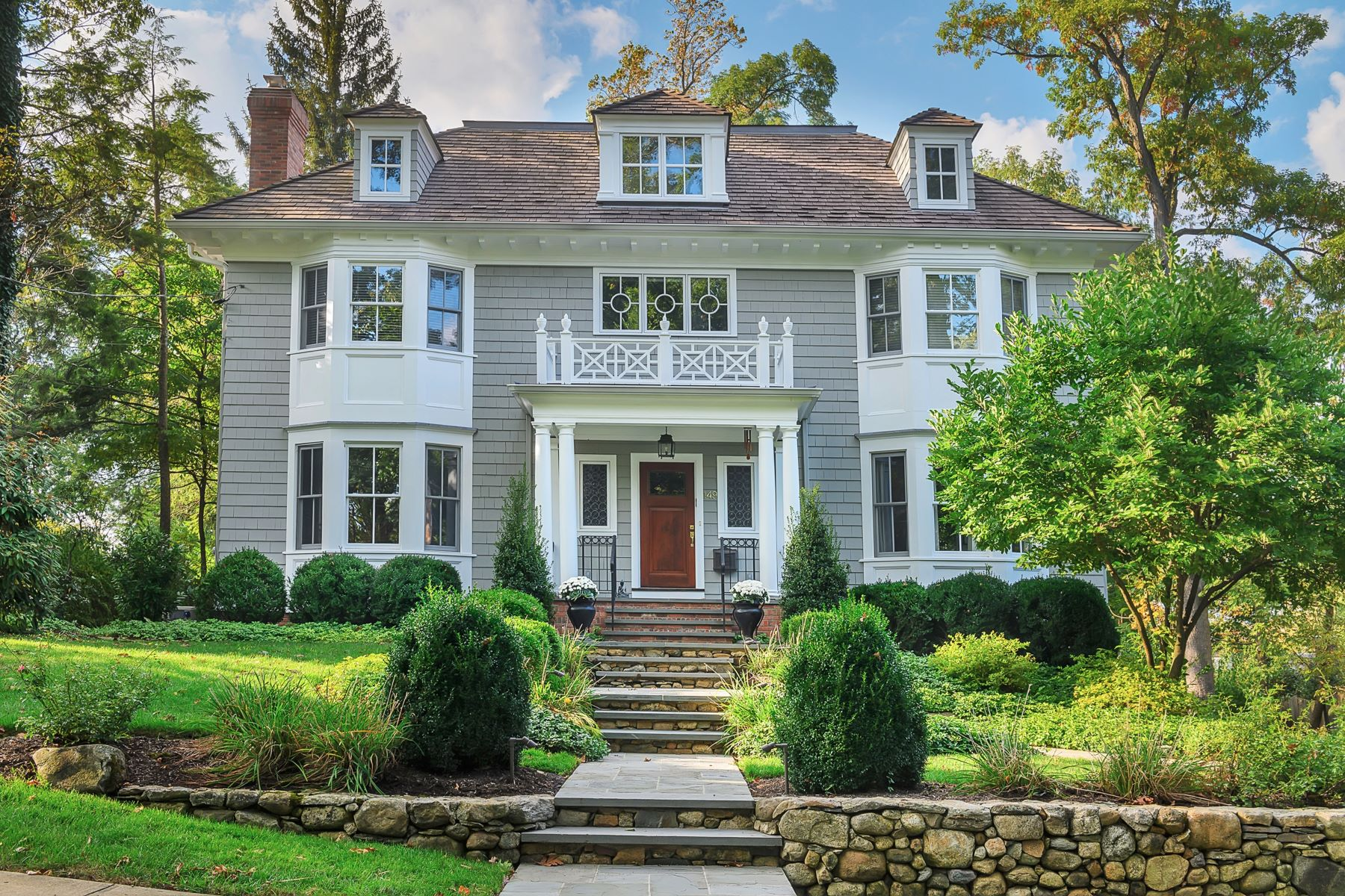 Single Family Homes for Sale at Custom Colonial Revival 149 Oak Ridge Avenue Summit, New Jersey 07901 United States