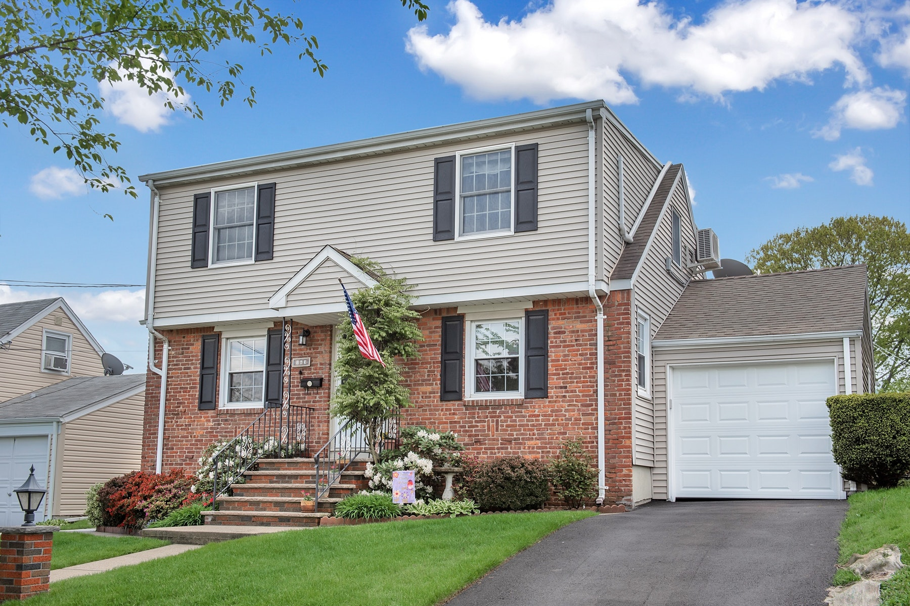 Single Family Homes for Sale at Picture Perfect Cape Cod 163 Lockwood Drive Clifton, New Jersey 07013 United States