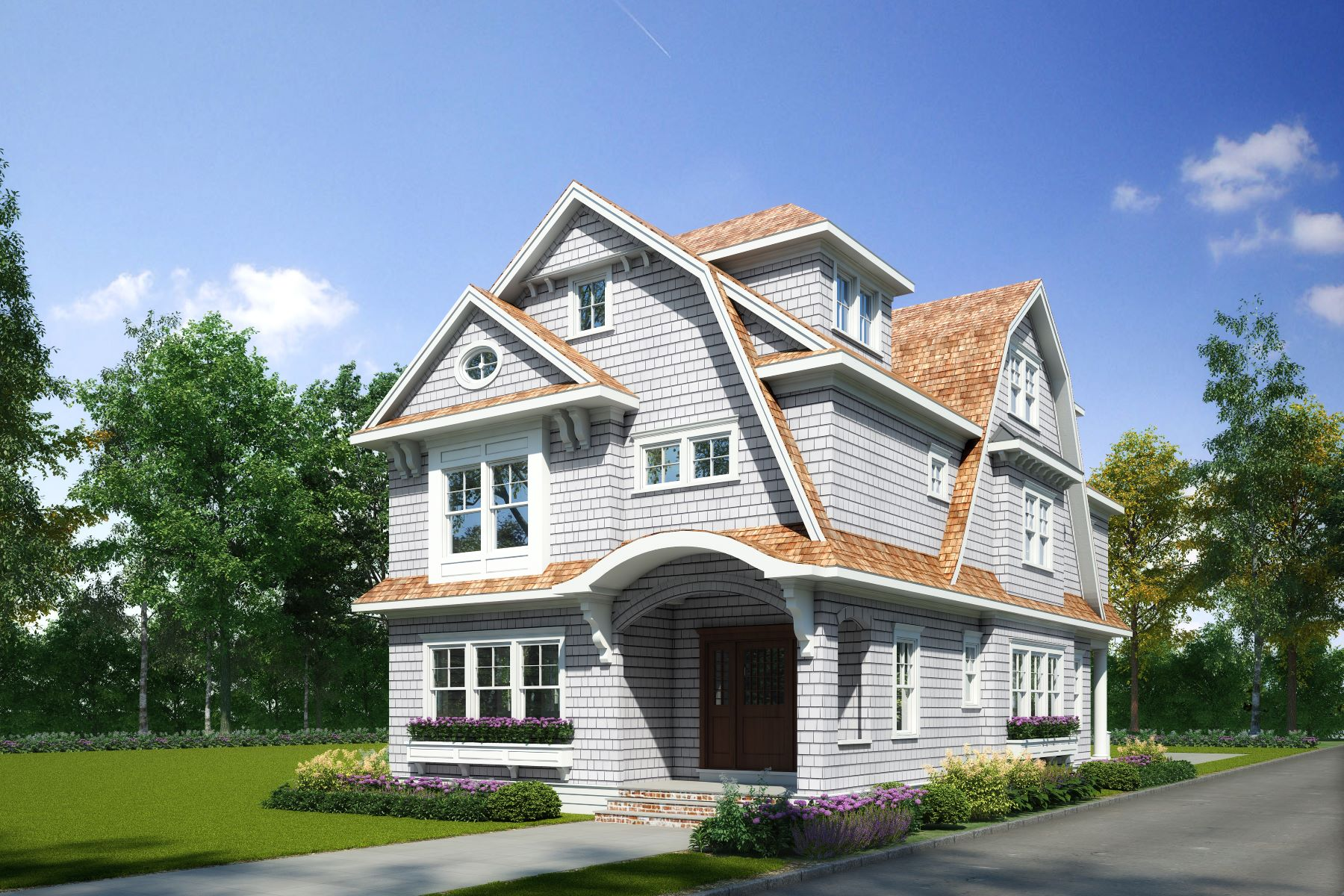 Single Family Homes for Sale at New Construction in Sea Girt 209 Chicago Boulevard Sea Girt, New Jersey 08750 United States
