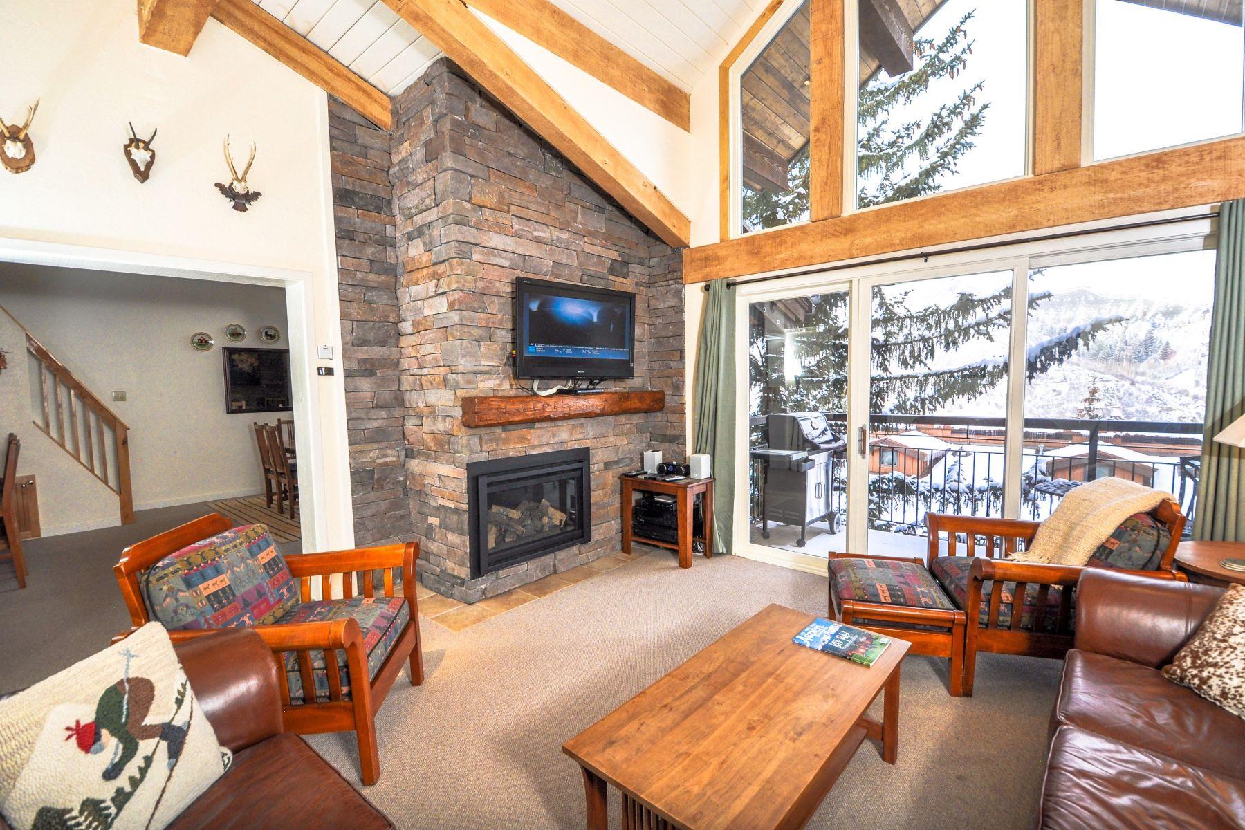 Condominiums для того Продажа на Crestwood 3307 400 Wood Road, Unit 3307, Snowmass Village, Колорадо 81615 Соединенные Штаты