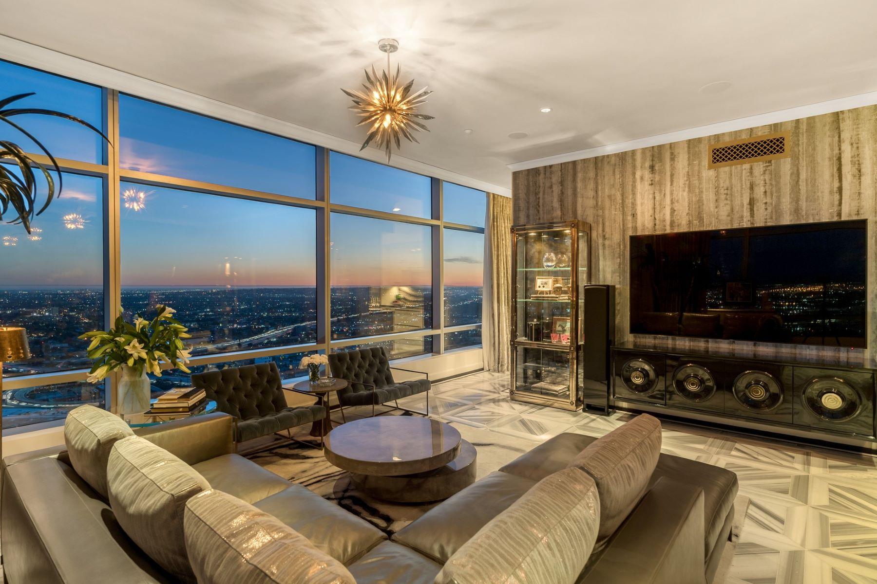 共管物業 為 出售 在 Luxurious Ritz Carlton Residences 900 W Olympic Blvd #45A, Los Angeles, 加利福尼亞州, 90015 美國
