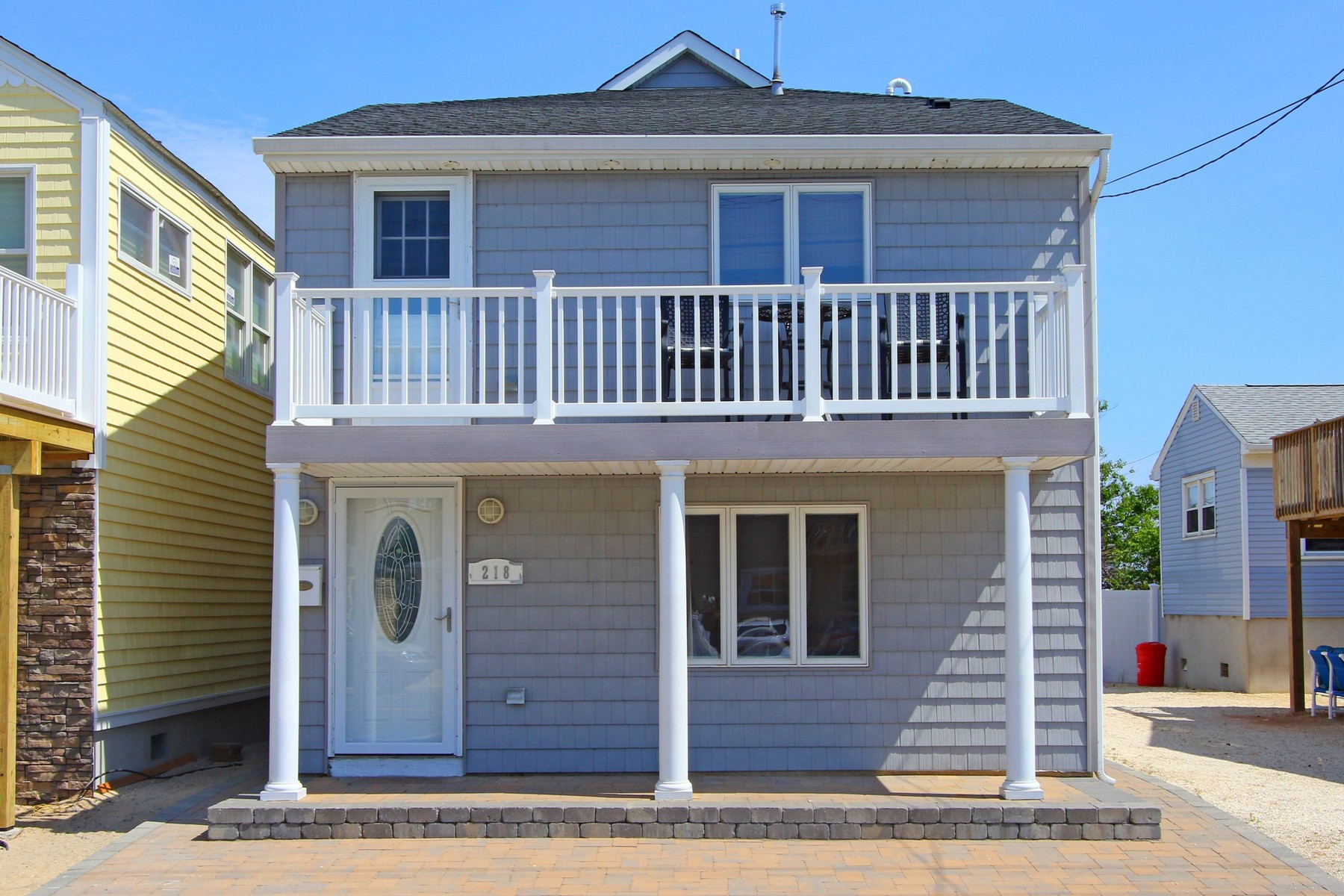 Single Family Home for Sale at 218 Hiering Ave Seaside Heights, New Jersey 08751 United States