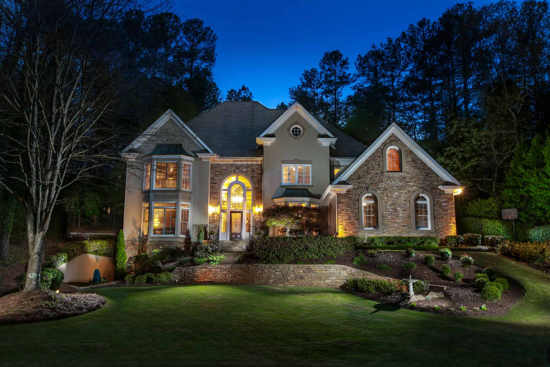 Single Family Home for Sale at Walk Out Pool in Horseshoe Bend Golf and Tennis 615 Wynfield Court Roswell, Georgia, 30076 United States