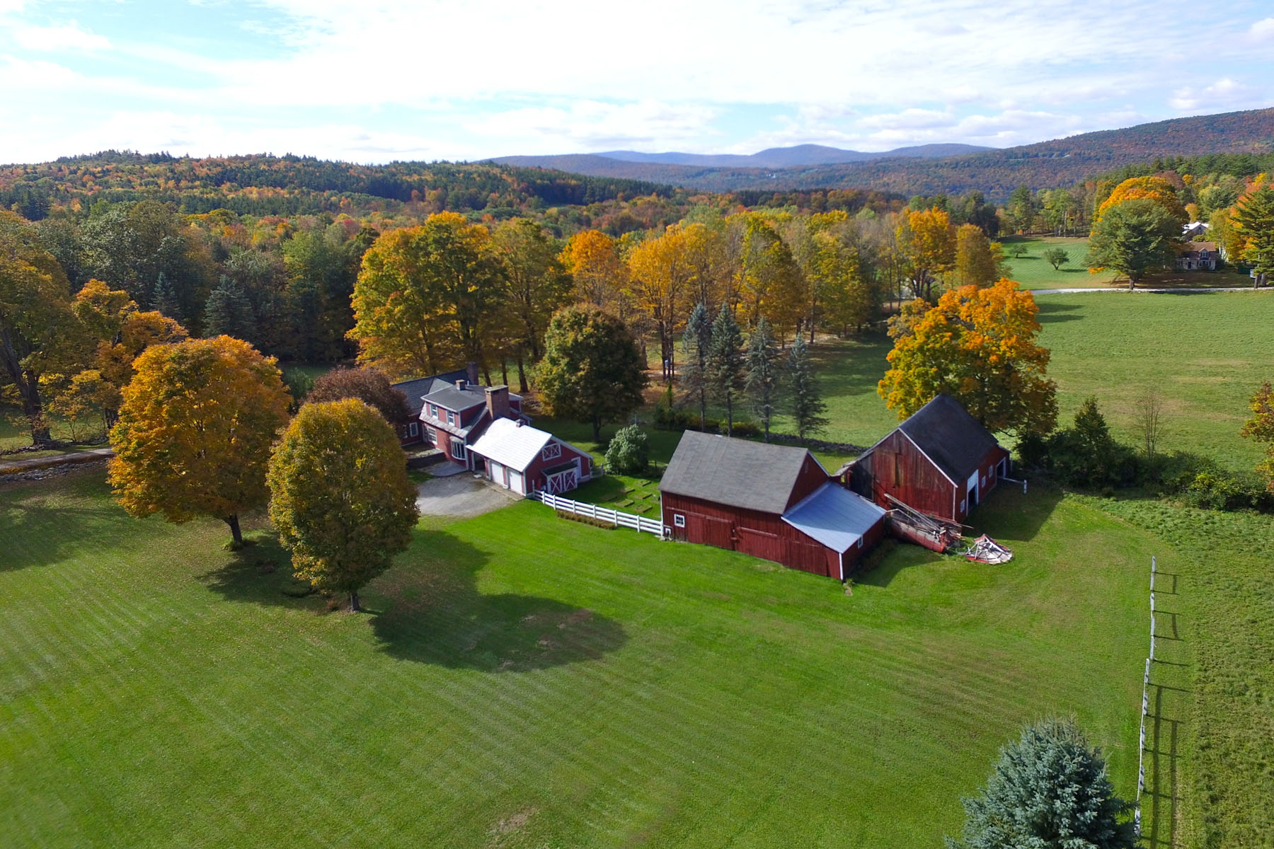 single family homes for Sale at Post and Beam Farmhouse - 255 Rolling Acres 75 Roaring Brook Ln Wallingford, Vermont 05773 United States