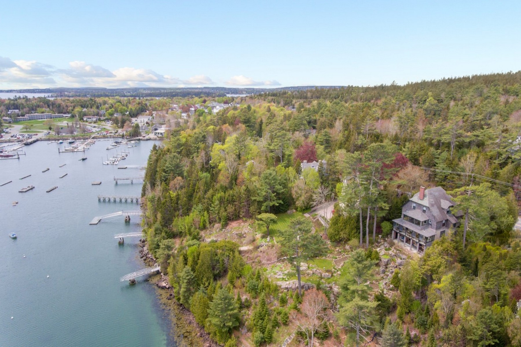 Single Family Homes for Sale at Fermata 65 Harborside Road, Northeast Harbor, Maine 04662 United States