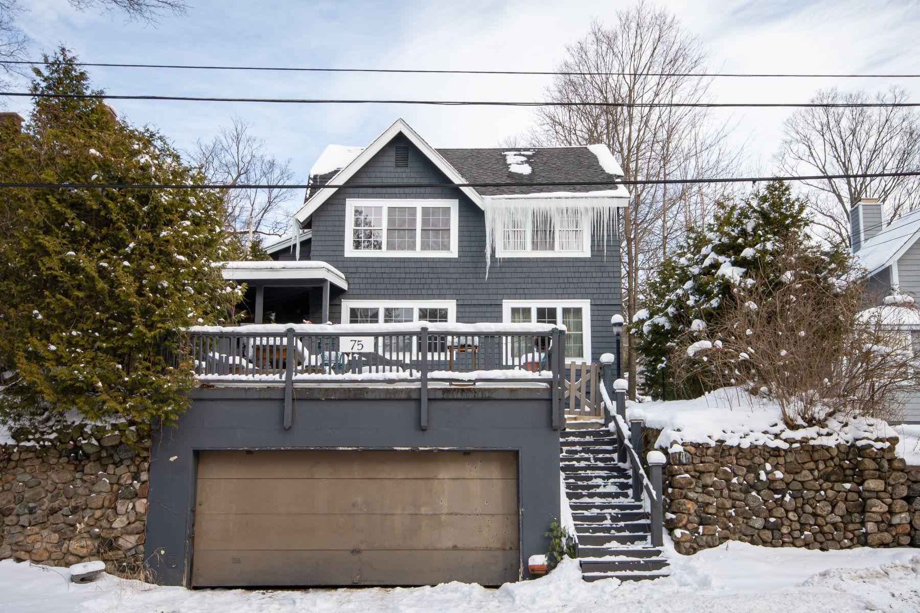 Multi-Family Homes for Sale at Village Duplex 75 Margaret St Saranac Lake, New York 12983 United States