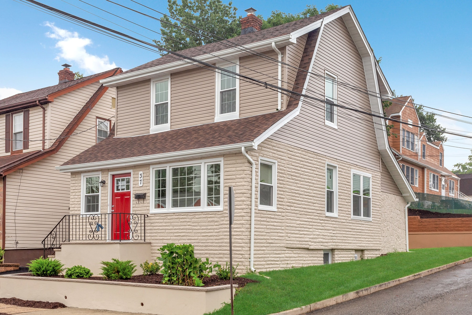 Single Family Homes for Sale at Fully Renovated and Priced To Sell 37 Gless Avenue Nutley, New Jersey 07110 United States