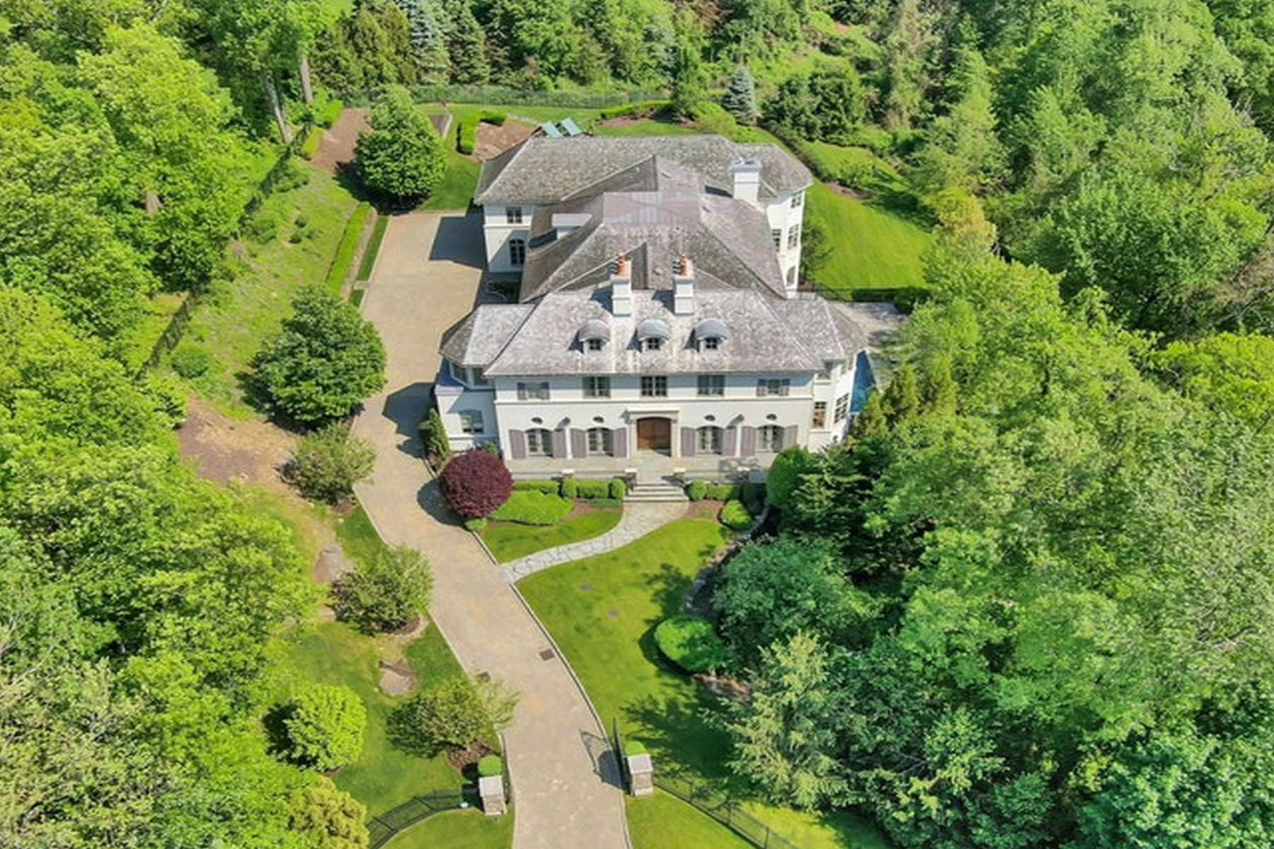 Single Family Home for Sale at Alpine Estate - Sunset & Southern Views 19 Autumn Terr, Alpine, New Jersey 07620 United States
