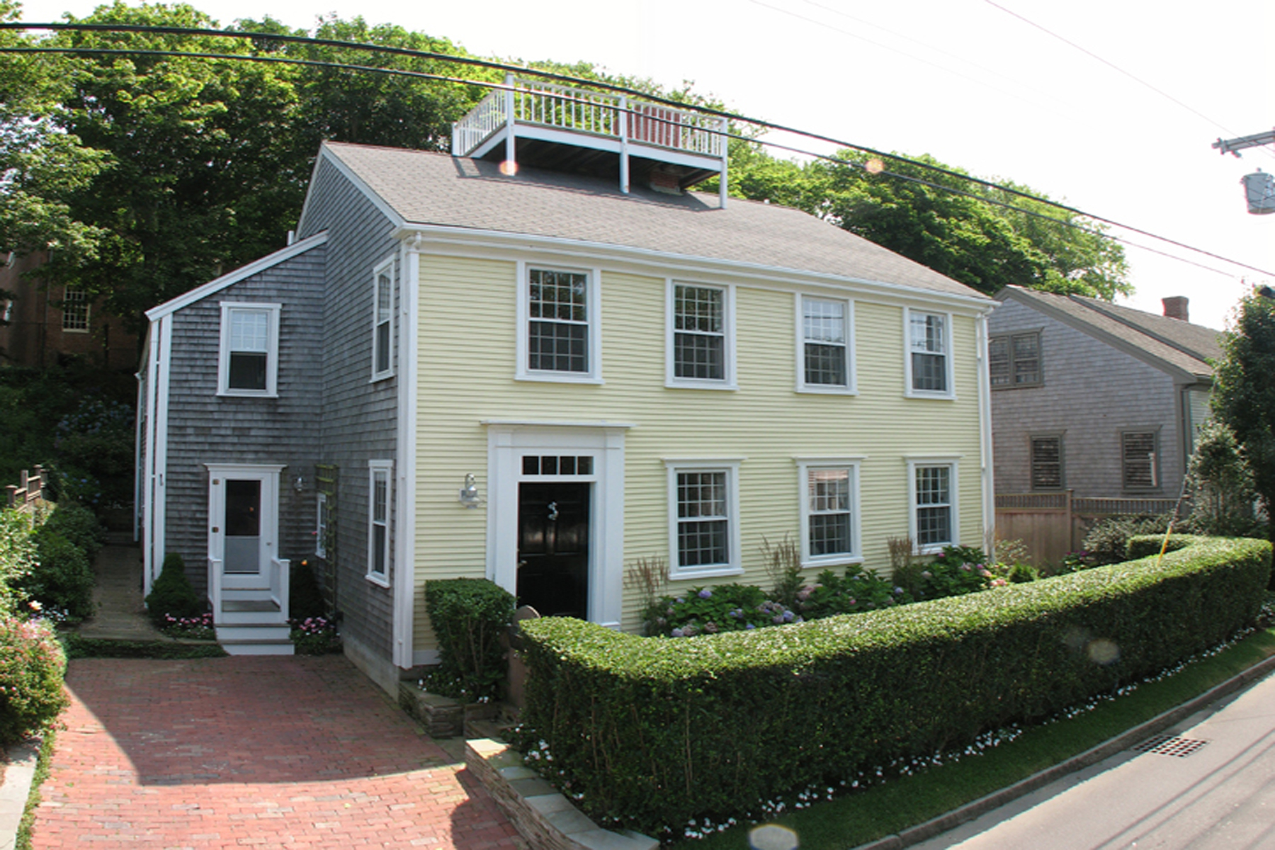 Single Family Home for Sale at Beautiful in Old Historic District 17 Lily Street Nantucket, Massachusetts, 02554 United States