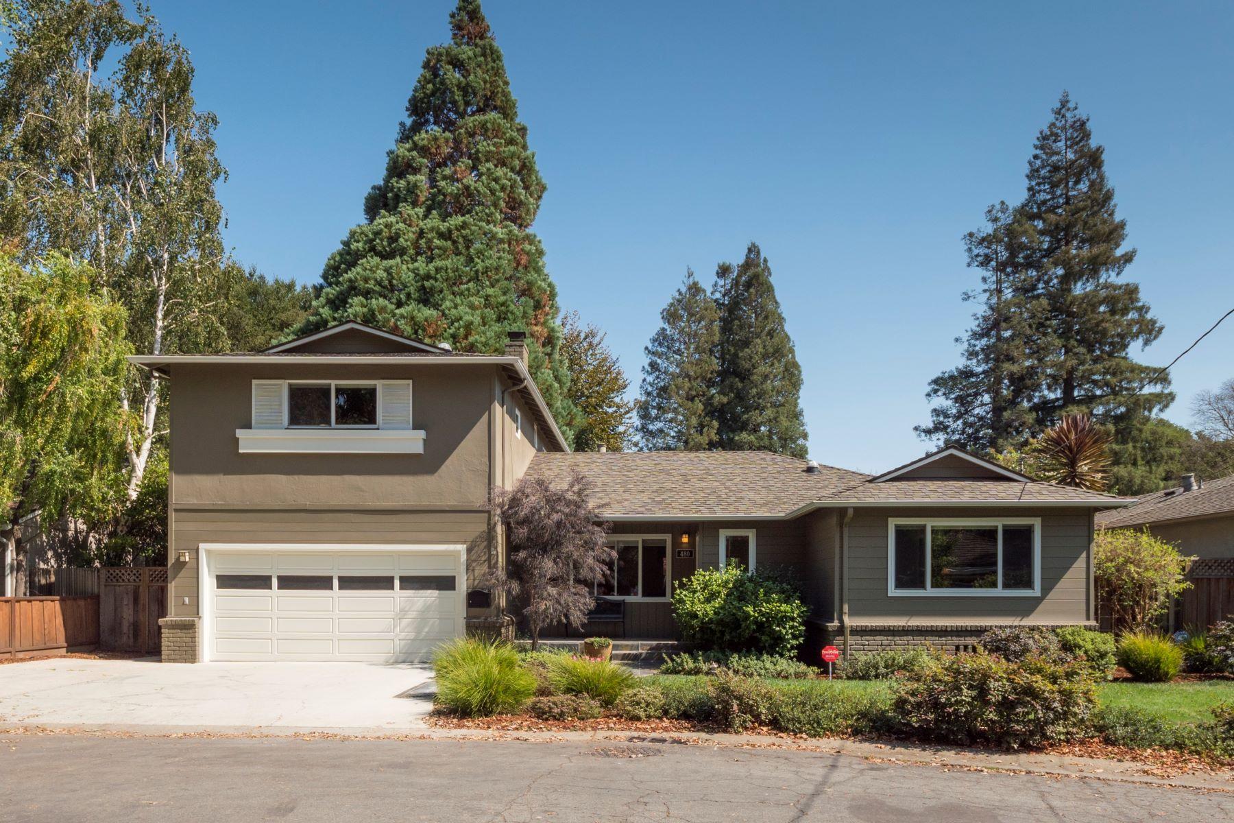 واحد منزل الأسرة للـ Sale في 480 Santa Margarita Ave Menlo Park, California 94025 United States