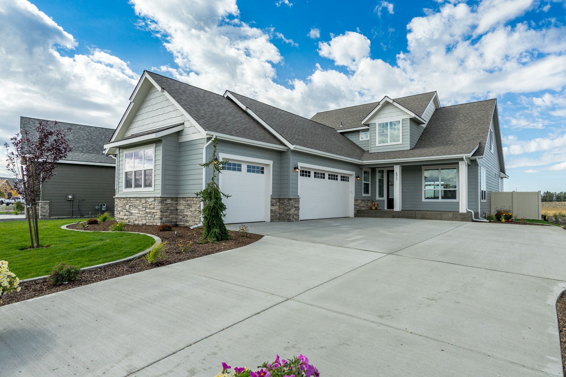 Single Family Homes for Sale at The Gallatin by Architerra Homes 3043 N Backweight Loop Post Falls, Idaho 83854 United States