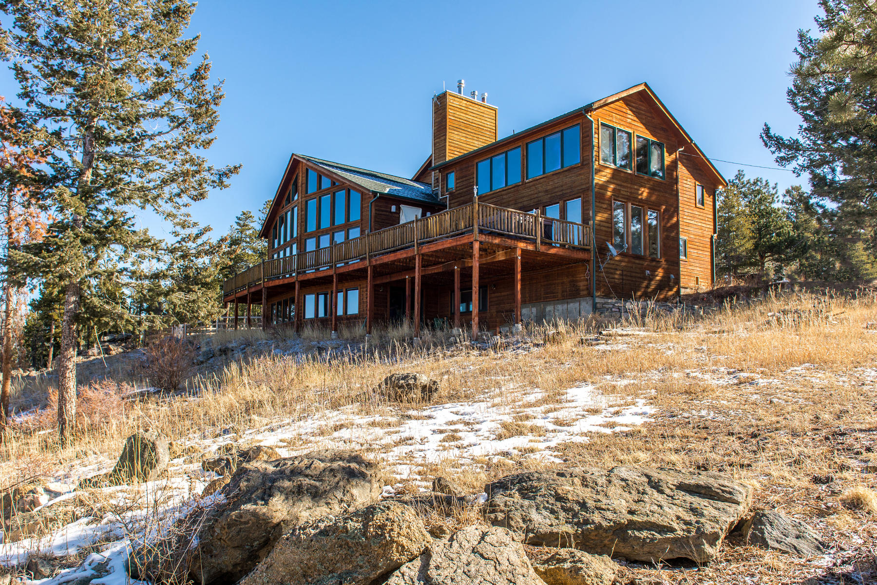 Single Family Home for Active at Top-of-the-World Panoramic Views 8485 Armadillo Trail Evergreen, Colorado 80439 United States