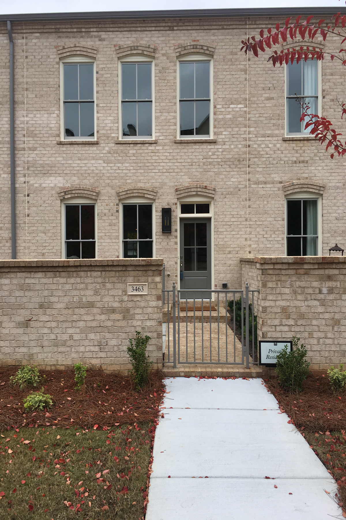 Townhouse for Rent at Brand New, Never Occupied Buckhead Townhome 3463 Landen Pine Court NE Atlanta, Georgia 30305 United States