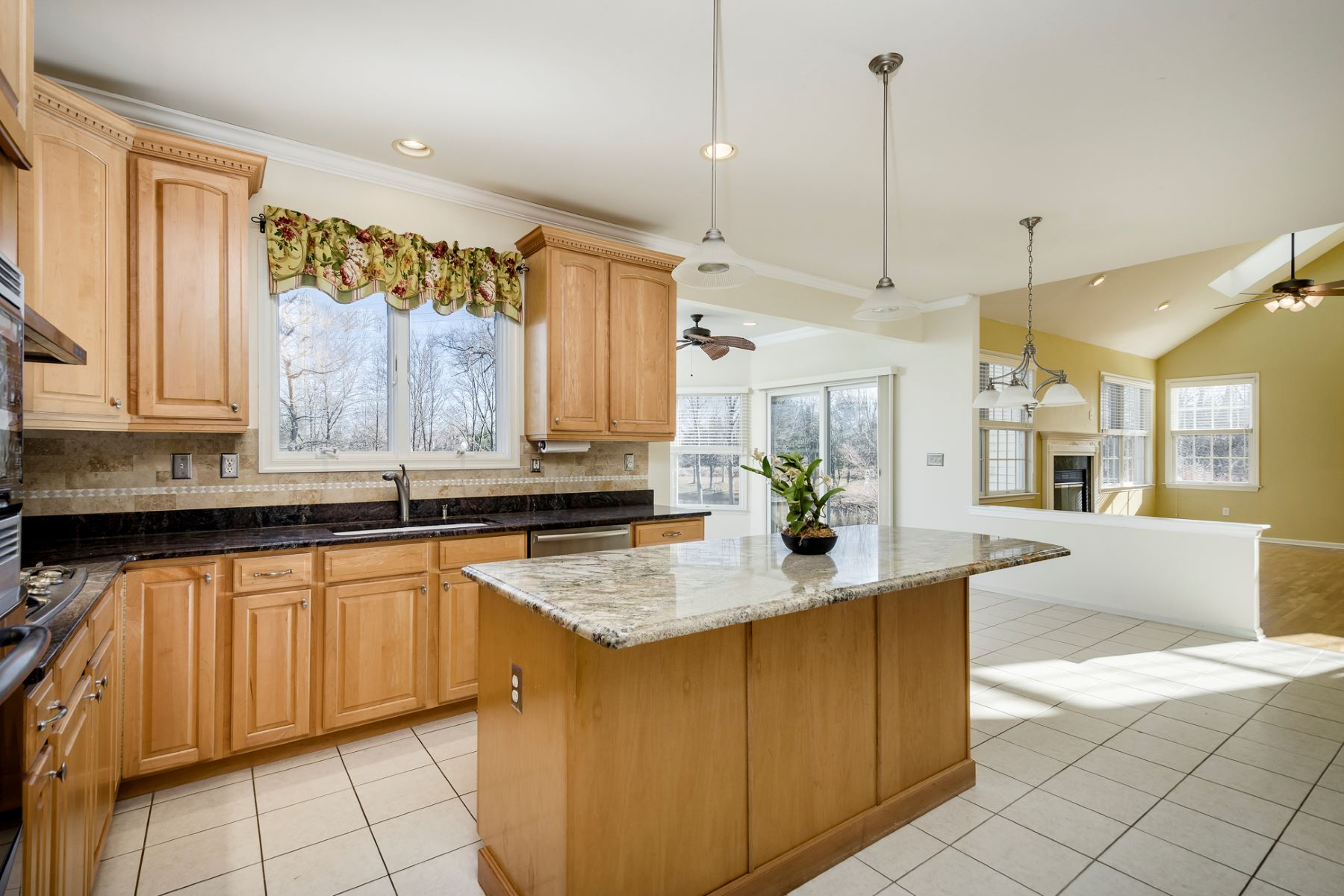 Additional photo for property listing at Cul-De-Sac Home Aglow with Light and Water Views 10 Cypress Court, Plainsboro, New Jersey 08536 United States