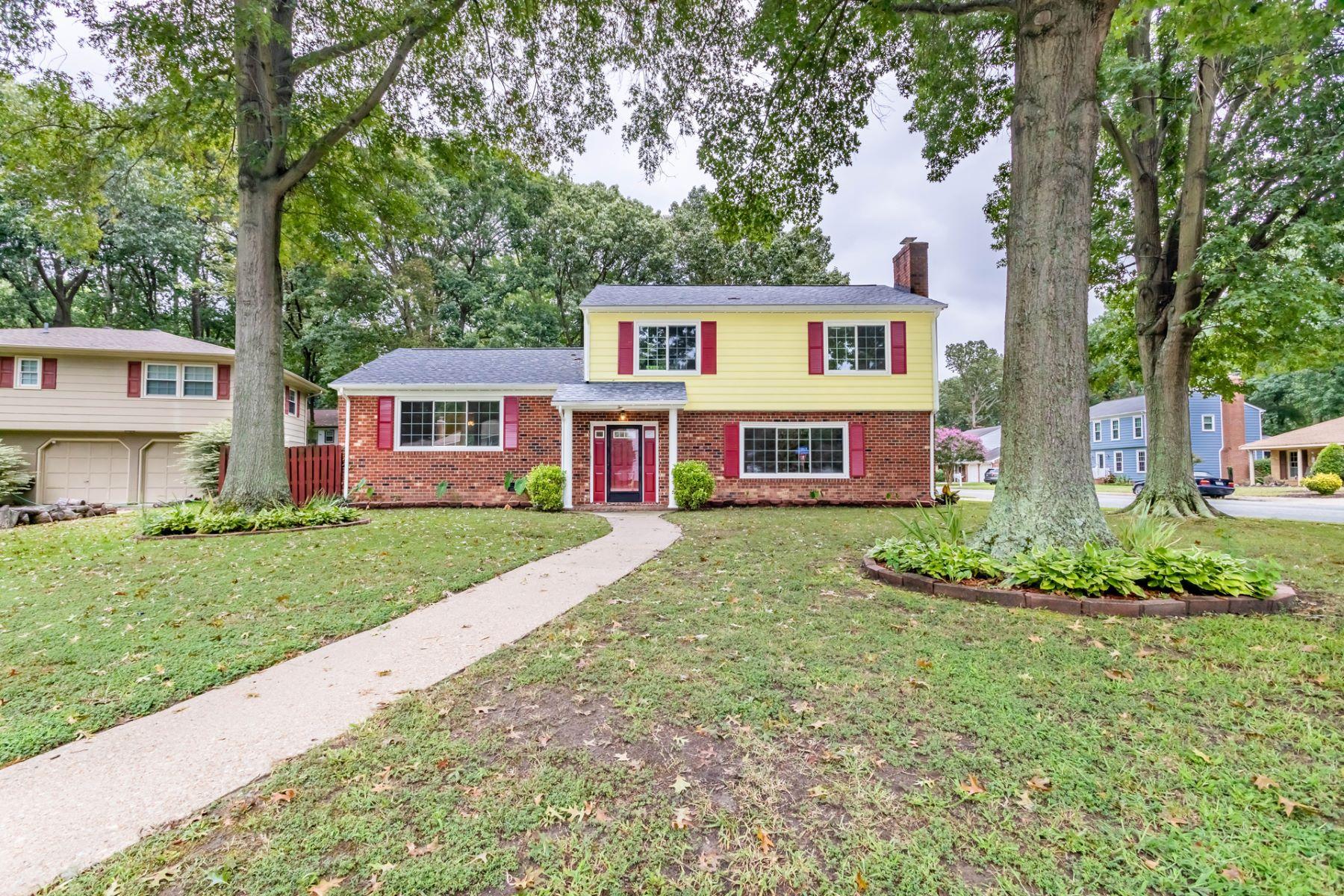 Single Family Homes pour l Vente à 2 Susquehanna Ct 2 Susquehanna Court Hampton, Virginia 23669 États-Unis