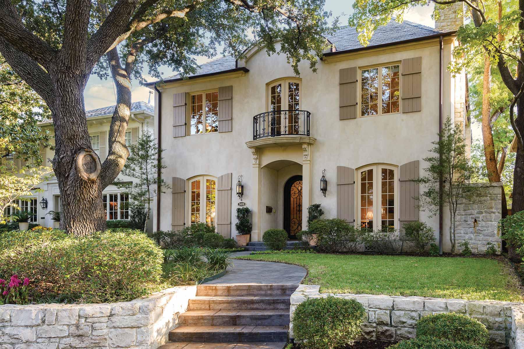 단독 가정 주택 용 매매 에 3409 Dartmouth Avenue Dallas, 텍사스, 75205 미국
