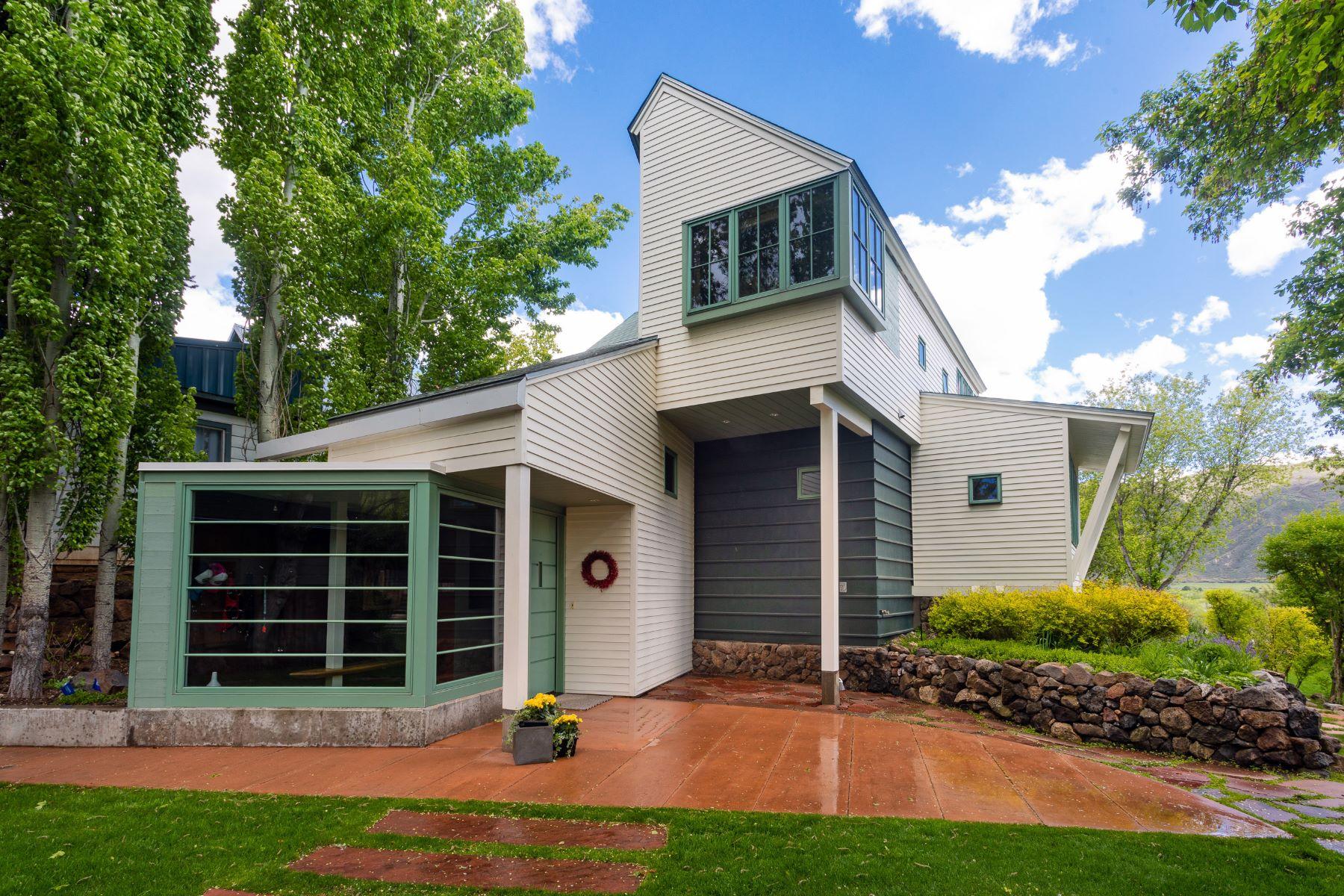 Single Family Homes for Sale at 313 & 315 E Sopris Drive Basalt, Colorado 81621 United States