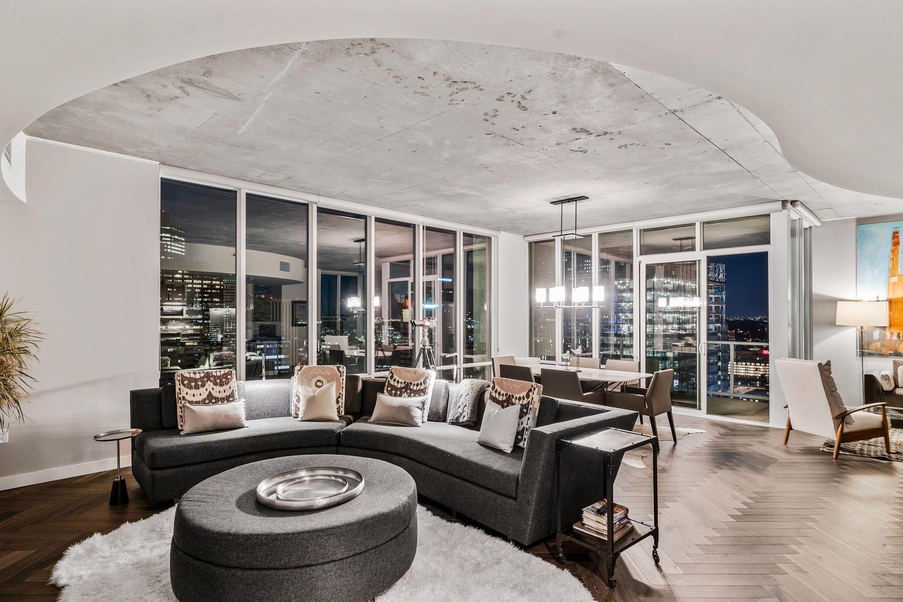 Condominiums для того Продажа на Experience Luxury Living at the Spire. 891 14th Street Unit #3609, Denver, Колорадо 80202 Соединенные Штаты