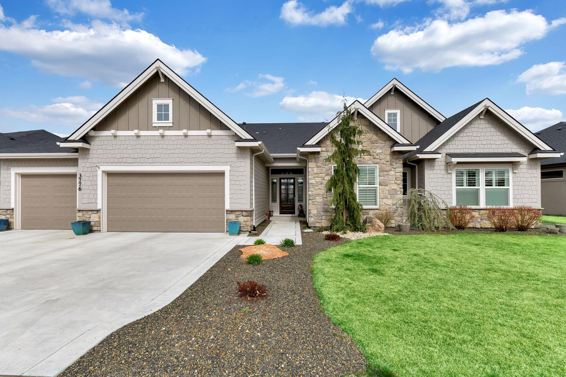 Single Family Home for Active at 3776 Temple, Eagle 3776 W Temple Eagle, Idaho 83616 United States