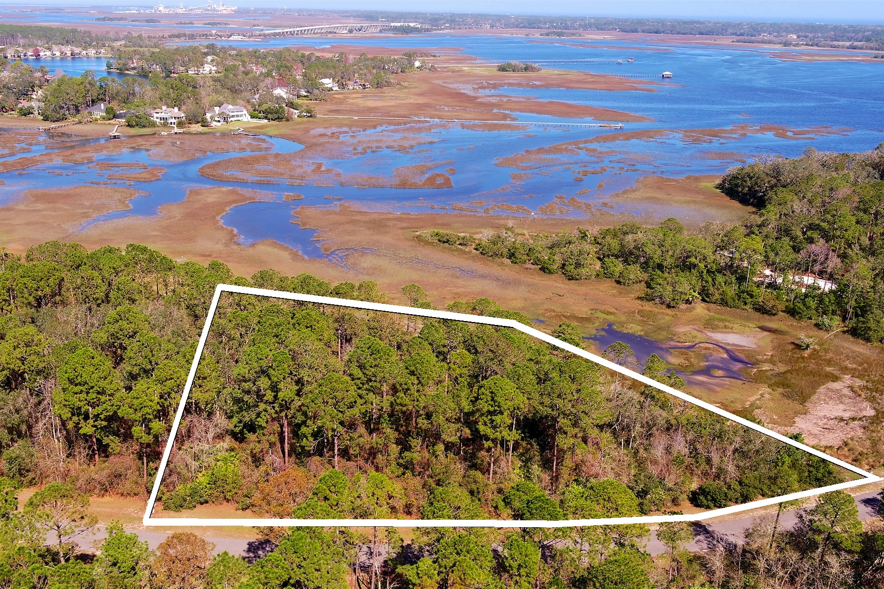 Land for Sale at 96130 & 96138 Brady Point 96130 & 96138 Brady Point Rd Fernandina Beach, Florida 32034 United States