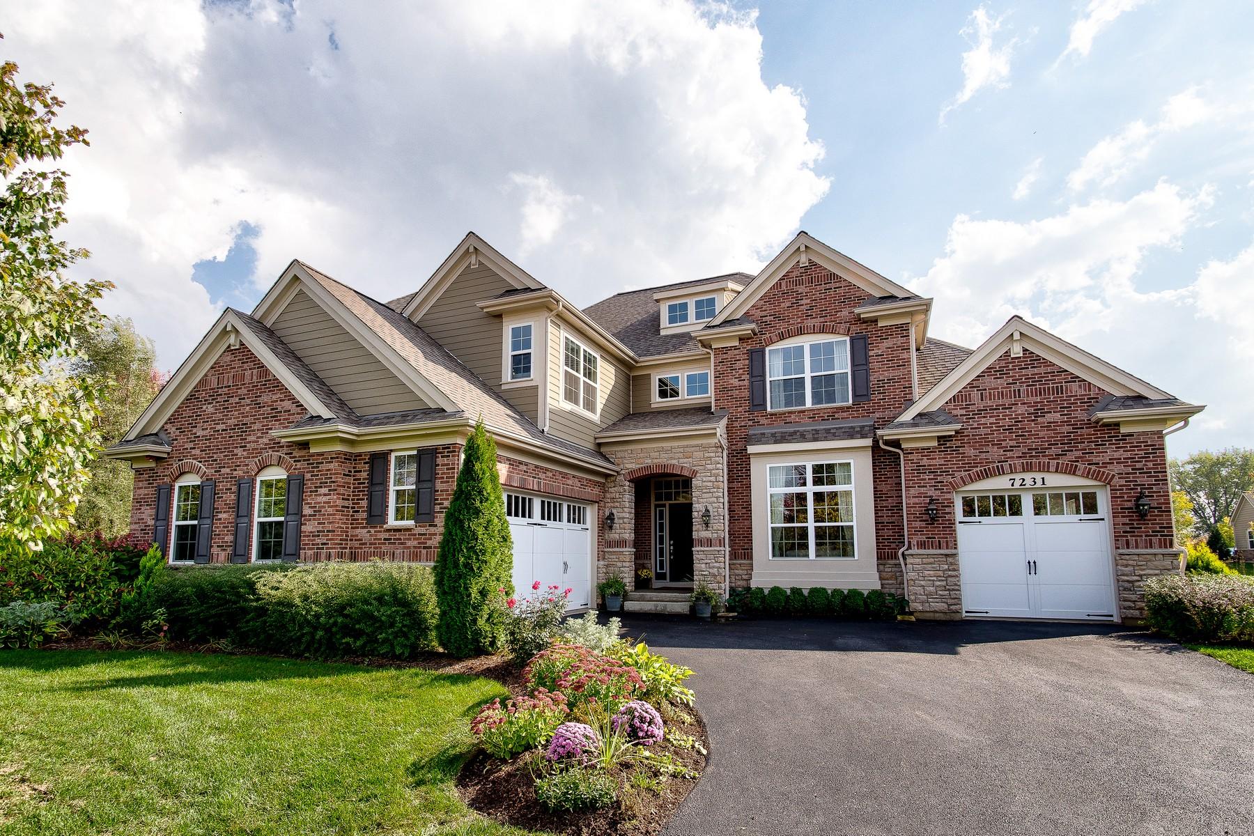 Single Family Home for Sale at Ravenna Subdivision 7231 Roxbury Court Long Grove, Illinois 60060 United States