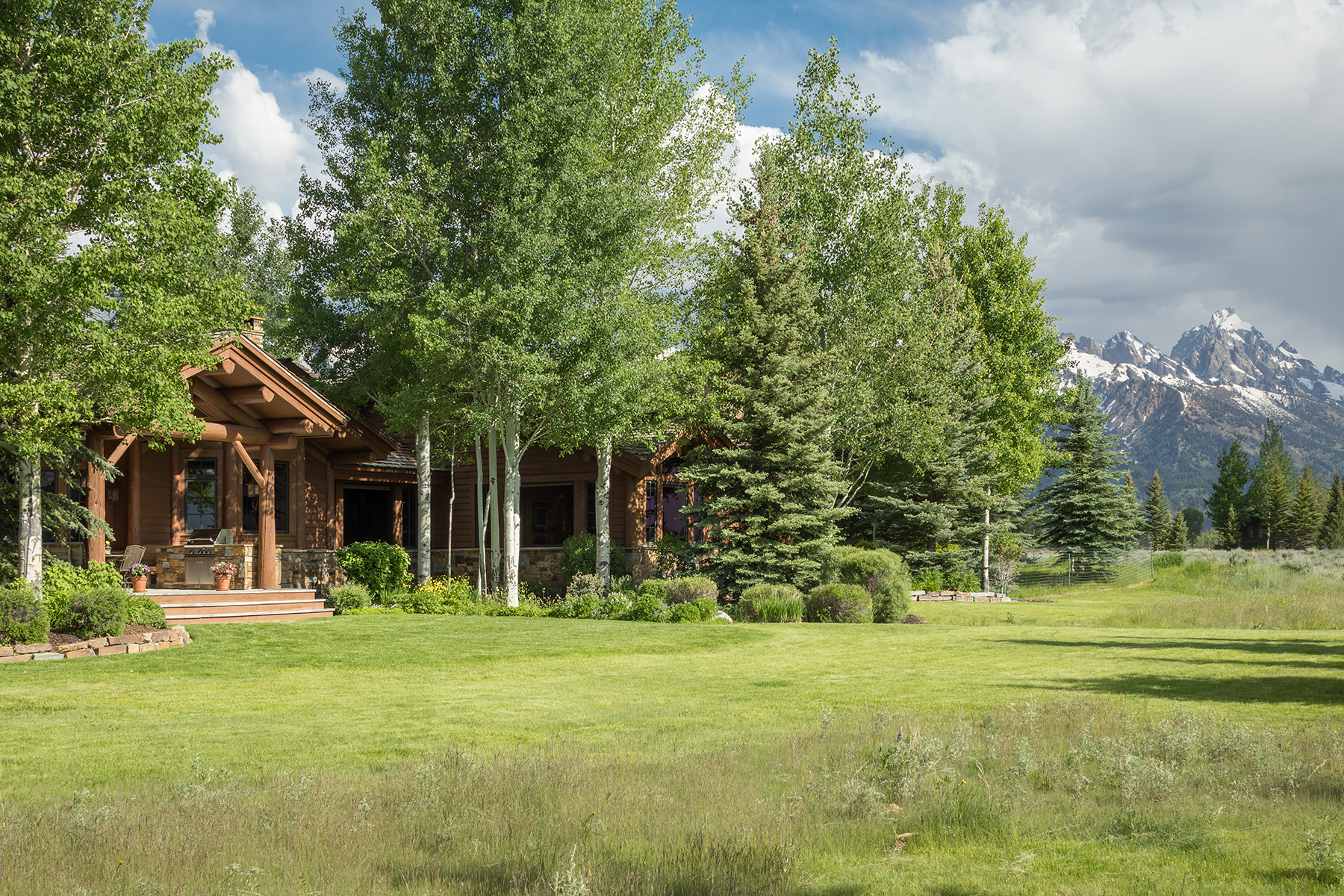 Single Family Homes for Sale at Elegant Interior, Exquisite Views 7330 Ryegrass Rd Jackson, Wyoming 83001 United States