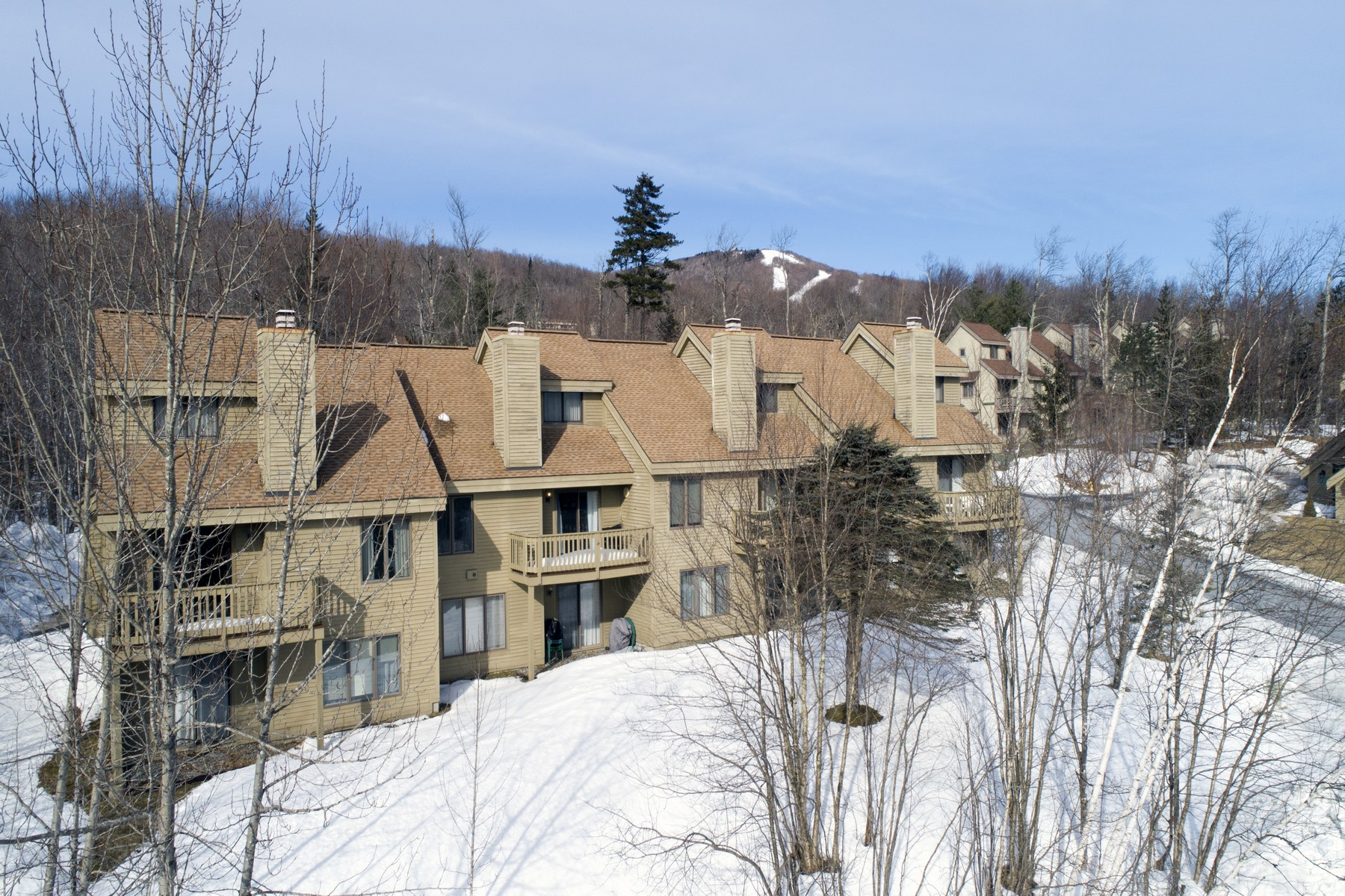 Condominium for Sale at Three- Level Townhouse in Bromley Village 66 Sugar Brook Rd E3 Peru, Vermont 05152 United States