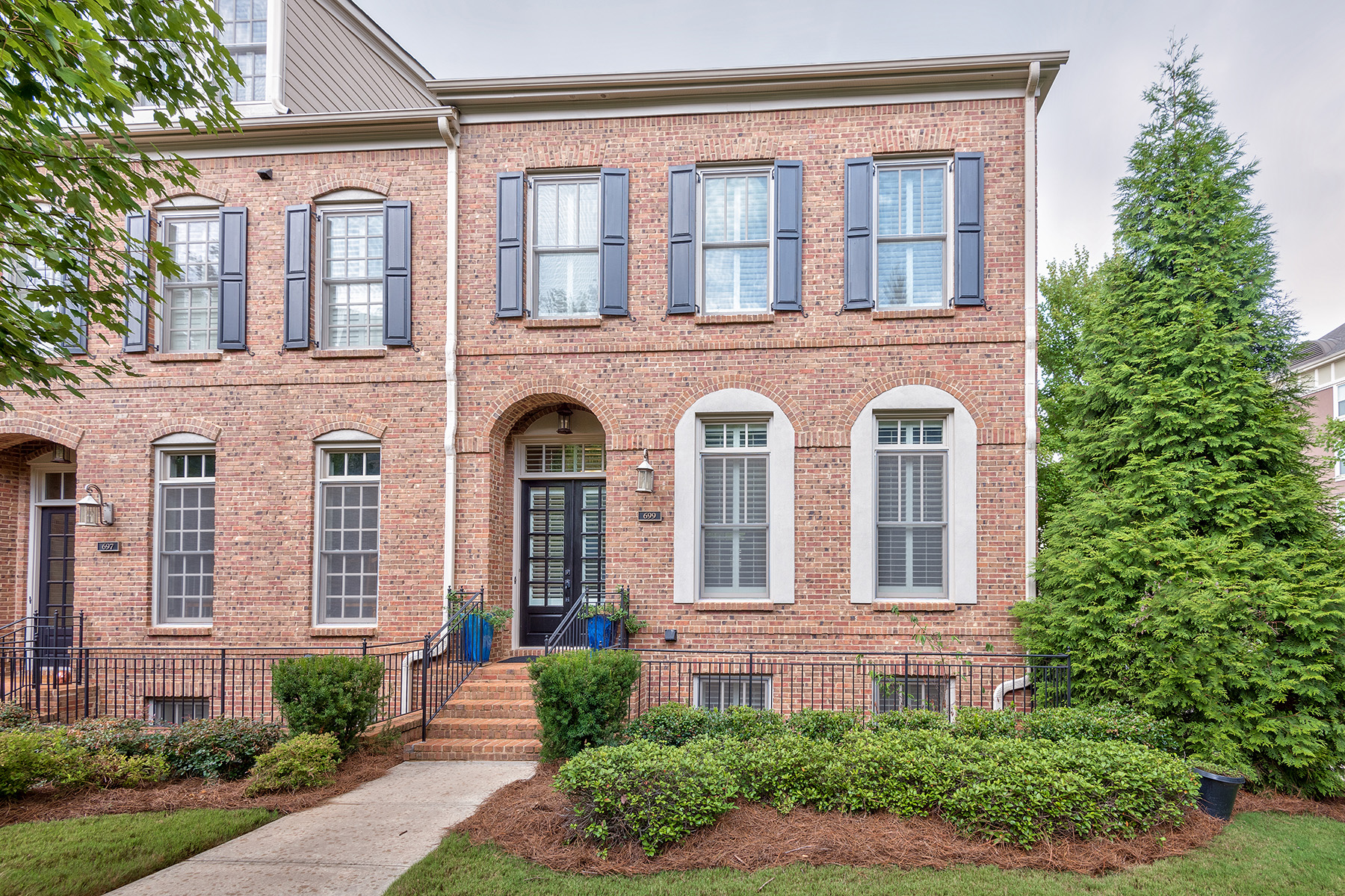 Townhouse for Sale at Luxurious Sandy Springs Townhome With Resort Like Amenities 699 Lockton Pl Sandy Springs, Georgia 30342 United States