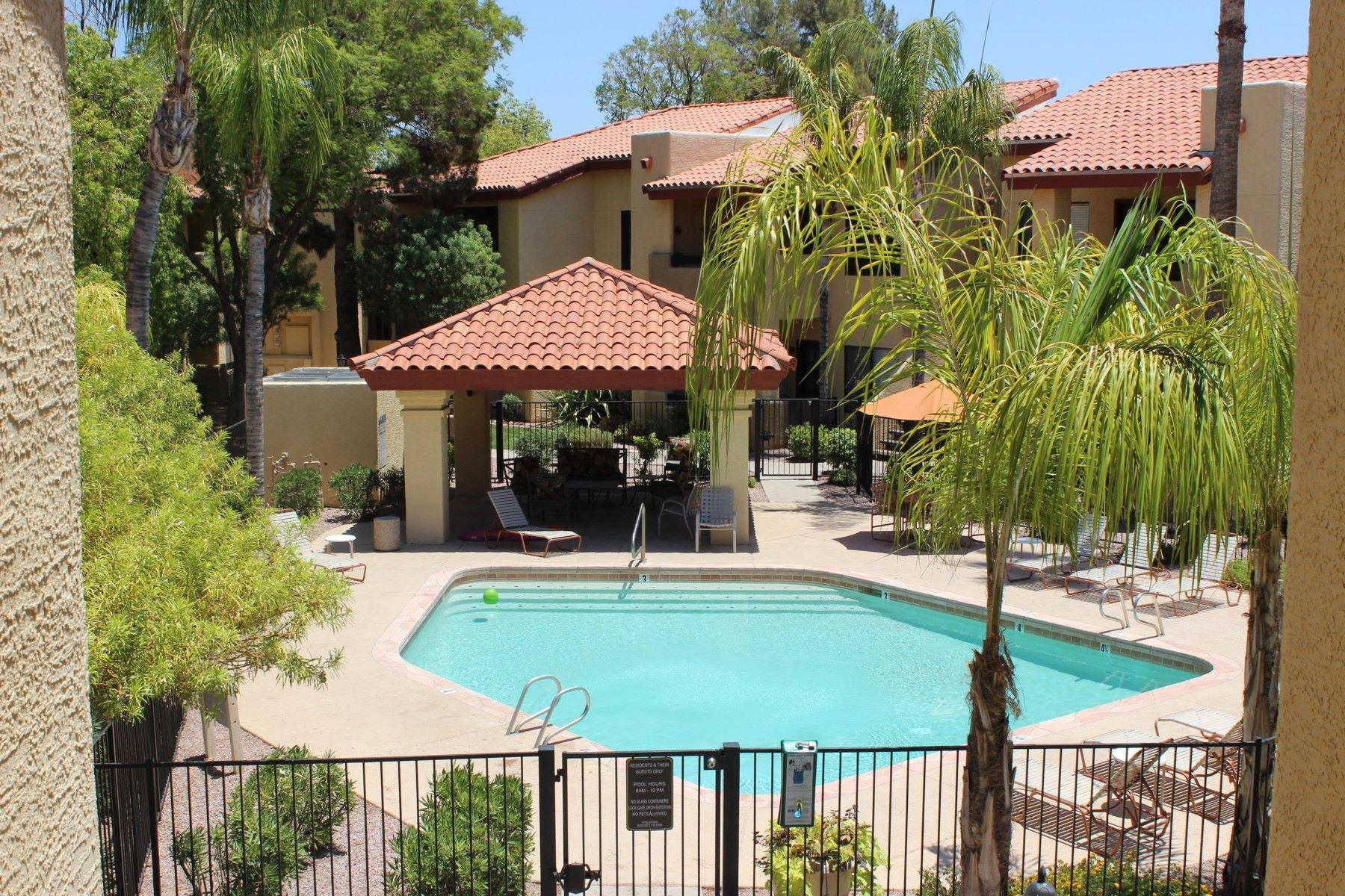 Appartement pour l à louer à Incredible poolside home in the desirable gated Barcelona Condominium 7008 E Gold Dust Ave #227 Paradise Valley, Arizona, 85253 États-Unis