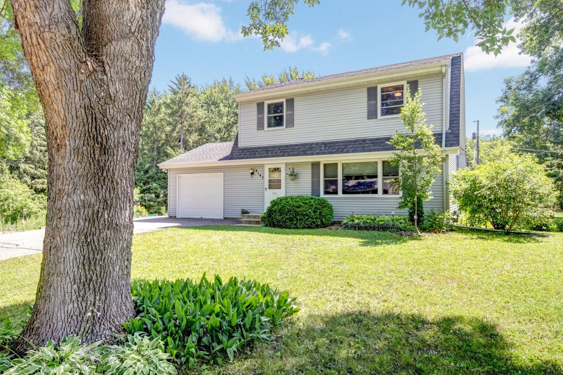 独户住宅 为 销售 在 4147 Hull Road 米妮唐卡, 明尼苏达州, 55305 美国