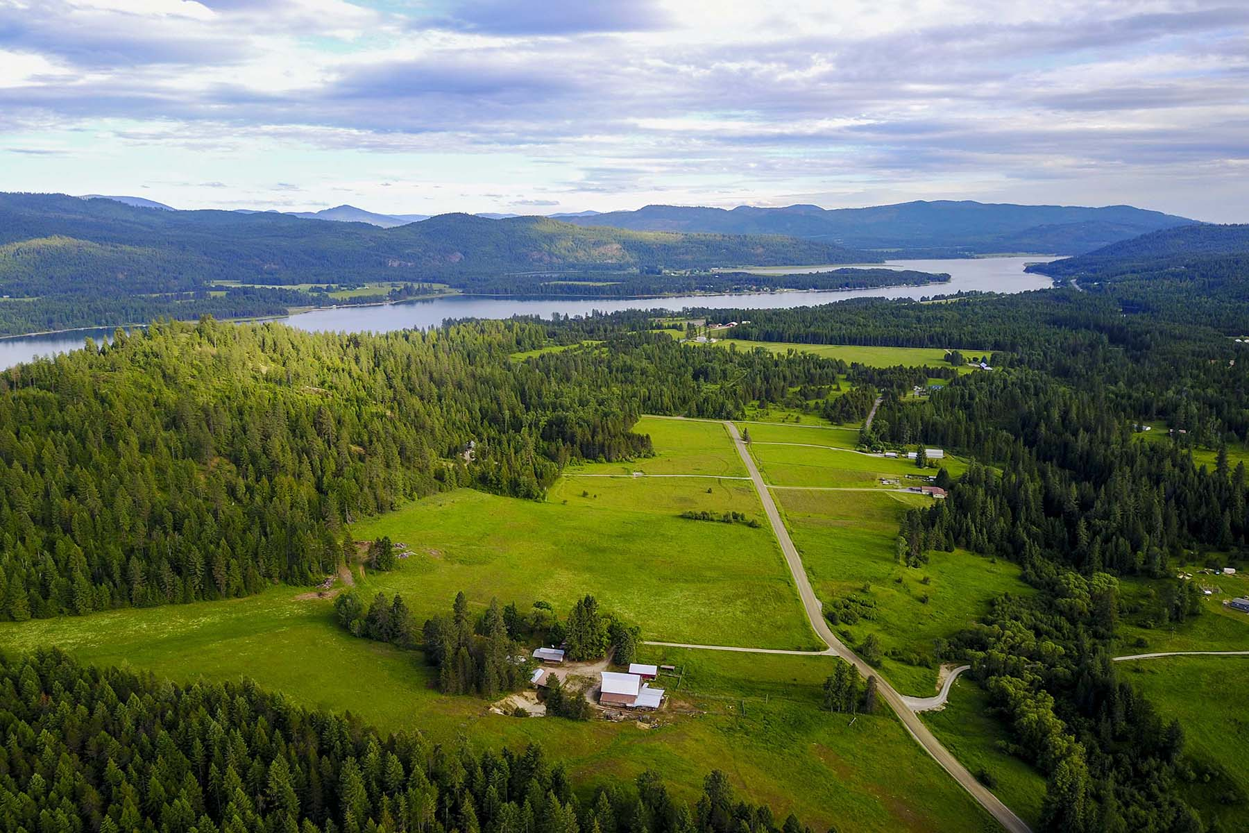 Single Family Home for Sale at Picturesque Horse Property 3315 Wrenco Loop Road 48 acres, Sandpoint, Idaho, 83864 United States