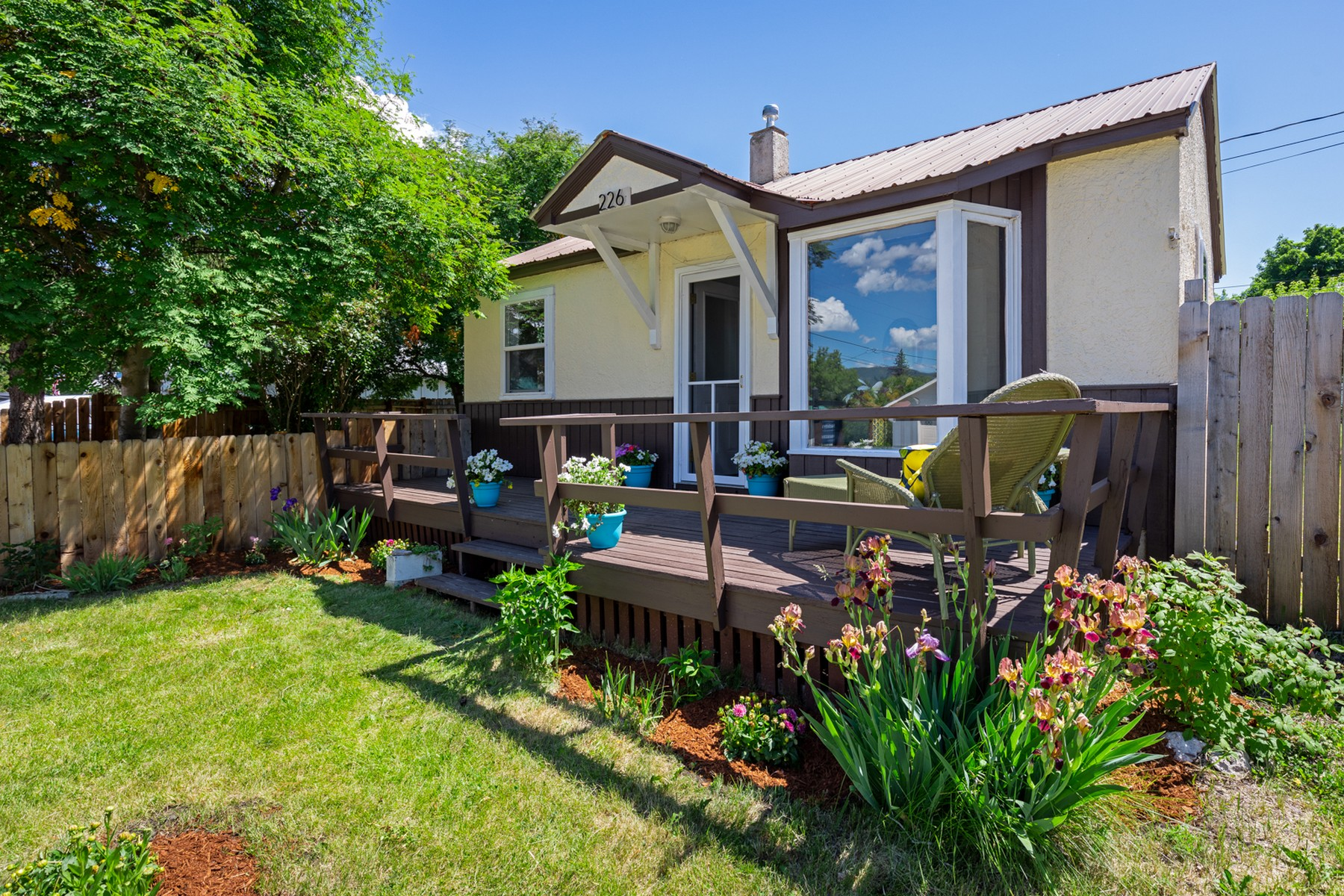 Single Family Homes for Sale at 226 4th Street Columbia Falls, Montana 59912 United States