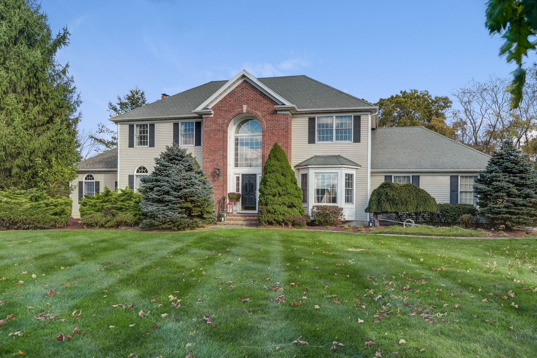 Single Family Homes 為 出售 在 Elegant Country Estate 28 Saddle Ridge Road, Frelinghuysen Township, 新澤西州 07821 美國