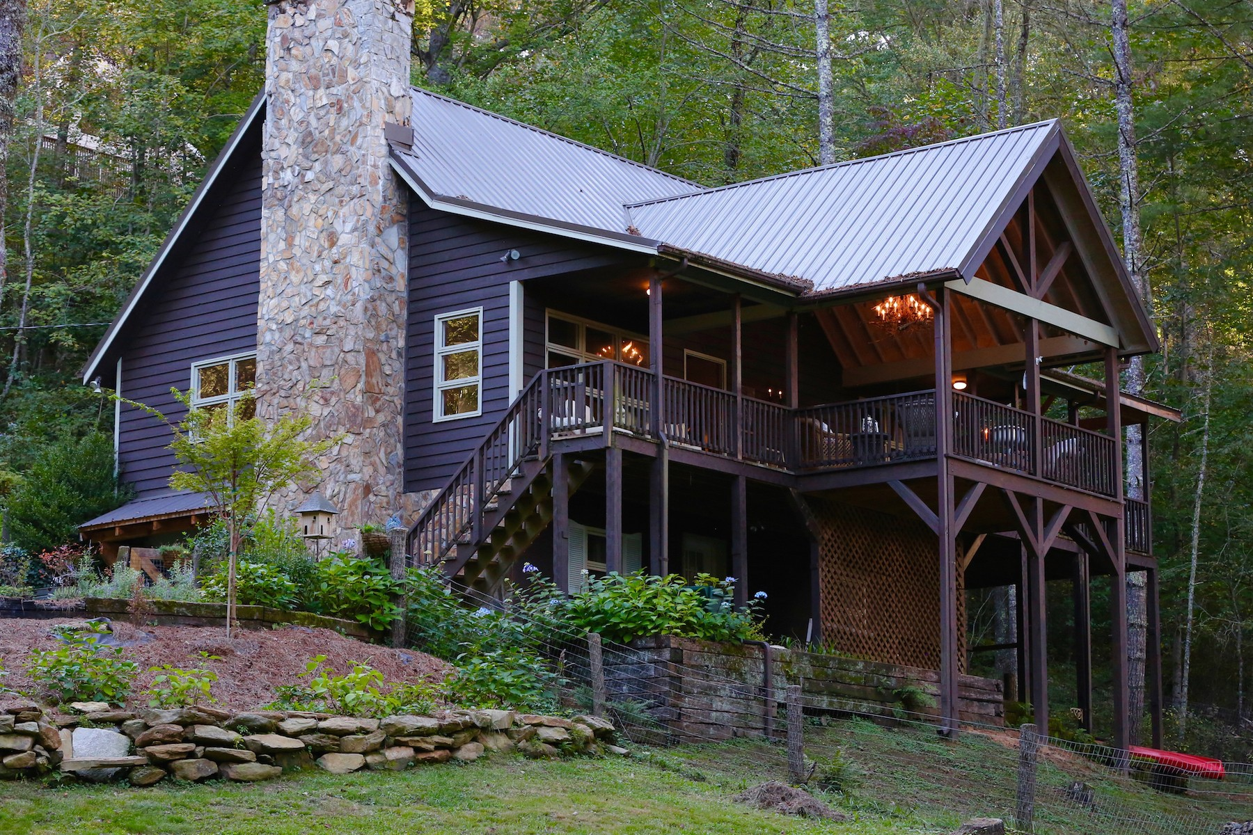 Single Family Home for Active at 340 Caribou Mountain Road Cullowhee, North Carolina 28723 United States
