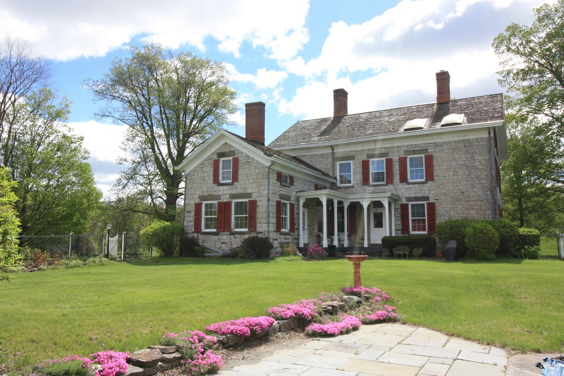 Additional photo for property listing at Historic 19th Century Stone Ridge Mansion 3050 Route 209 Stone Ridge, New York 12401 United States