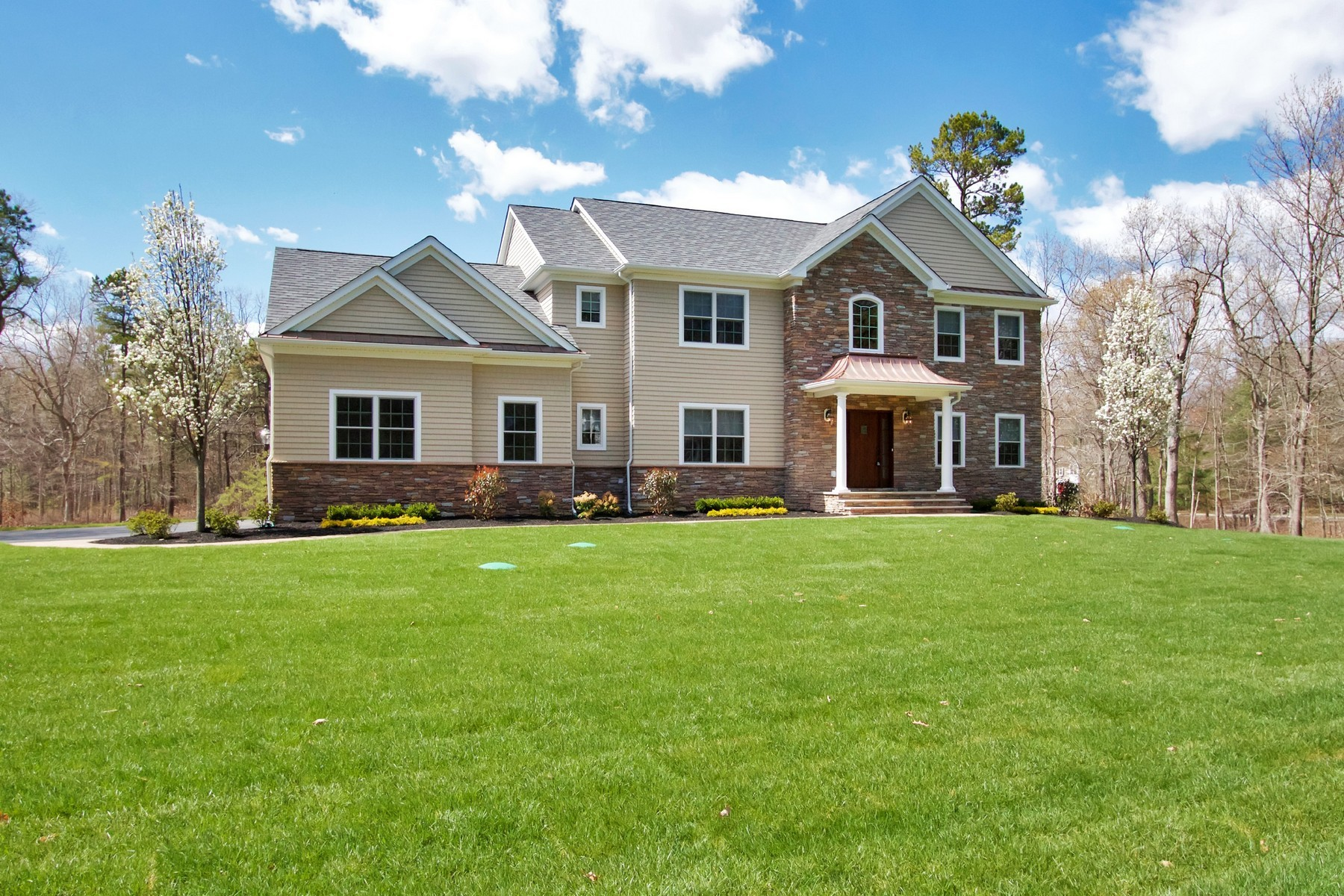 Single Family Home for Rent at Custom Home in Colts Neck 3 Iroquois Court, Colts Neck, New Jersey 07722 United States