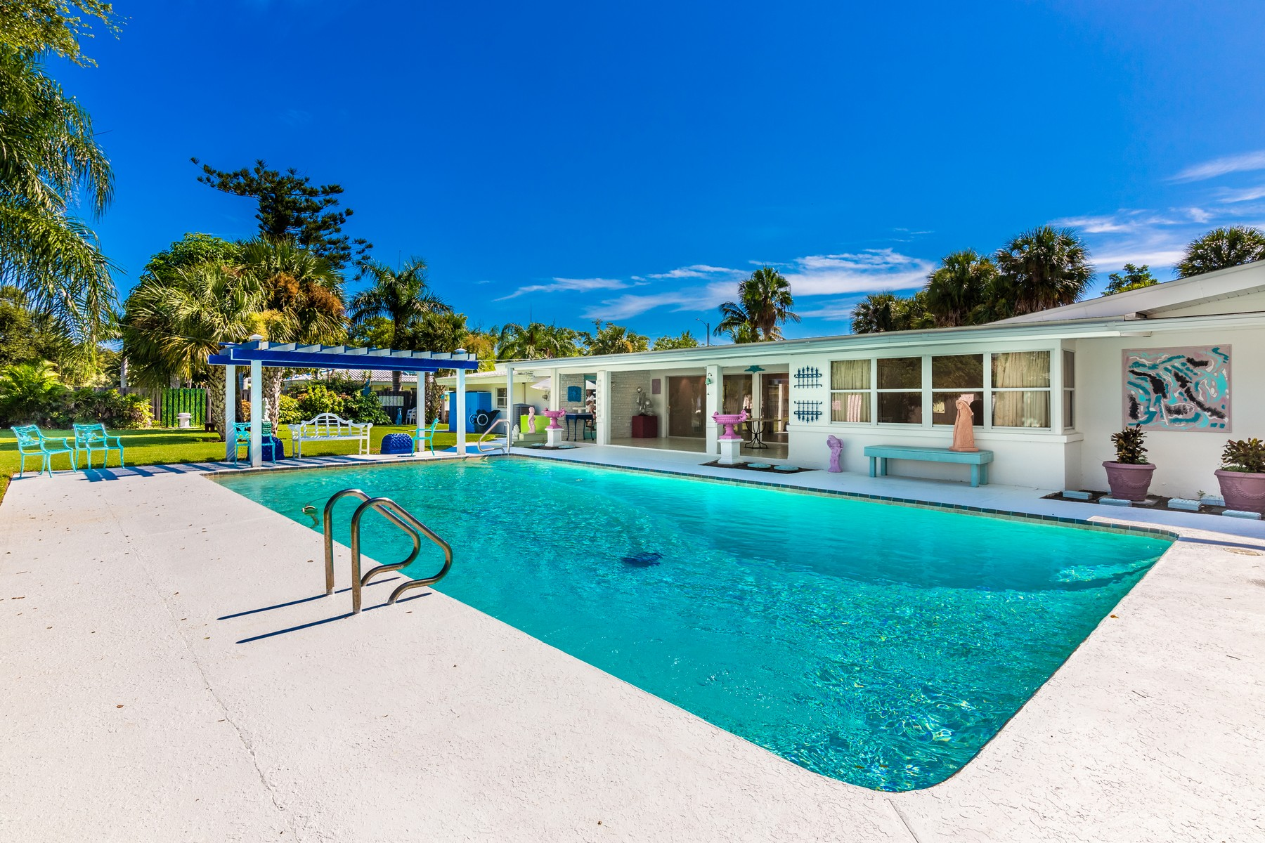 Additional photo for property listing at Mid-Century Artists' Delight with Amenities Galore! 1202 S Ramona Avenue Indialantic, Florida 32903 United States